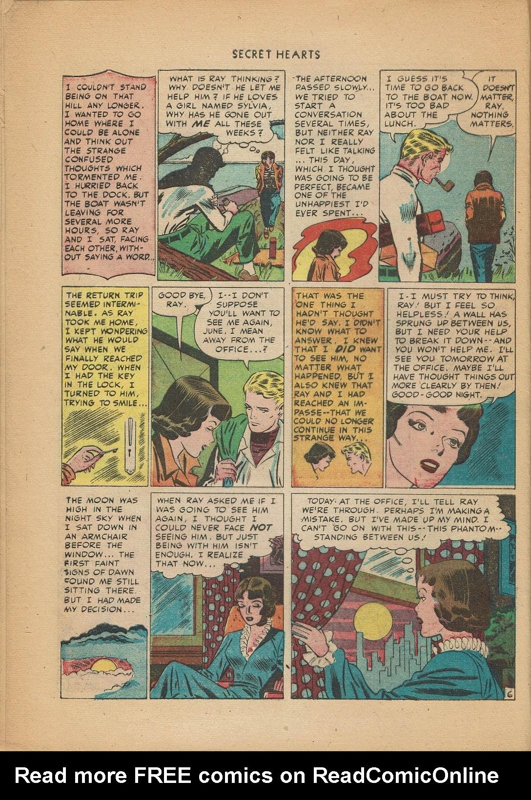 Read online Secret Hearts comic -  Issue #2 - 16