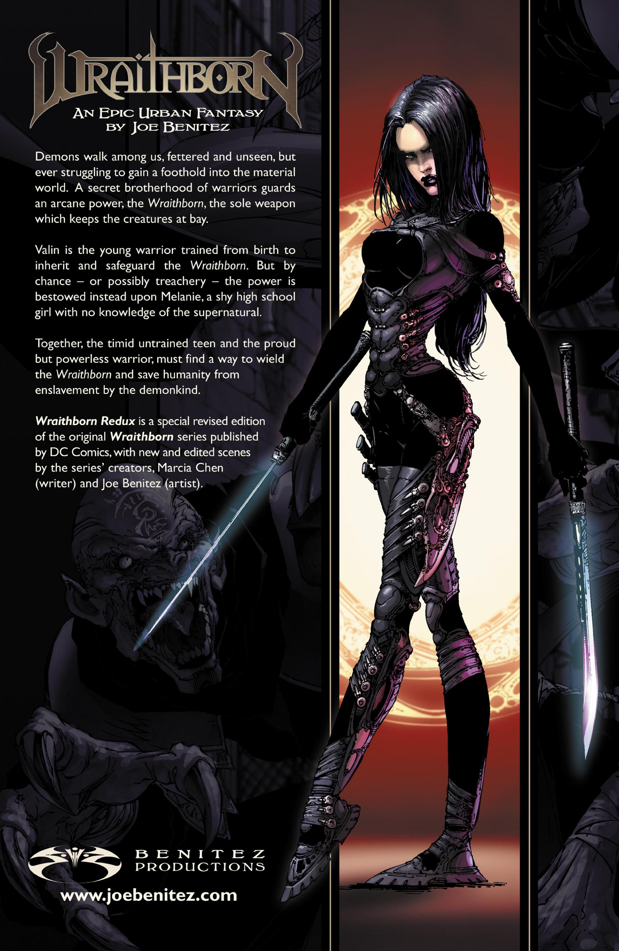 Read online Wraithborn Redux comic -  Issue #1 - 31