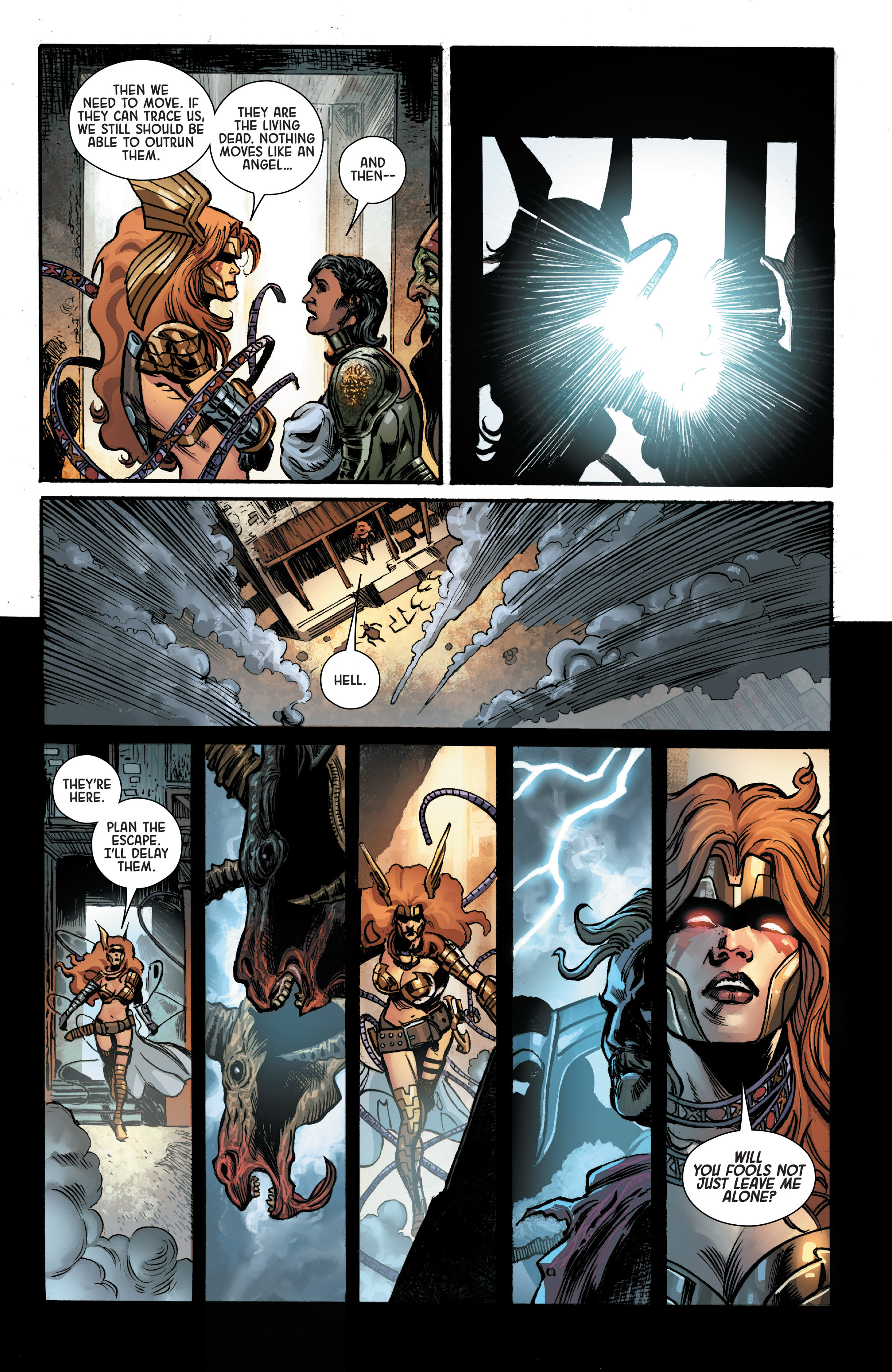 Read online Angela: Asgard's Assassin comic -  Issue #1 - 19