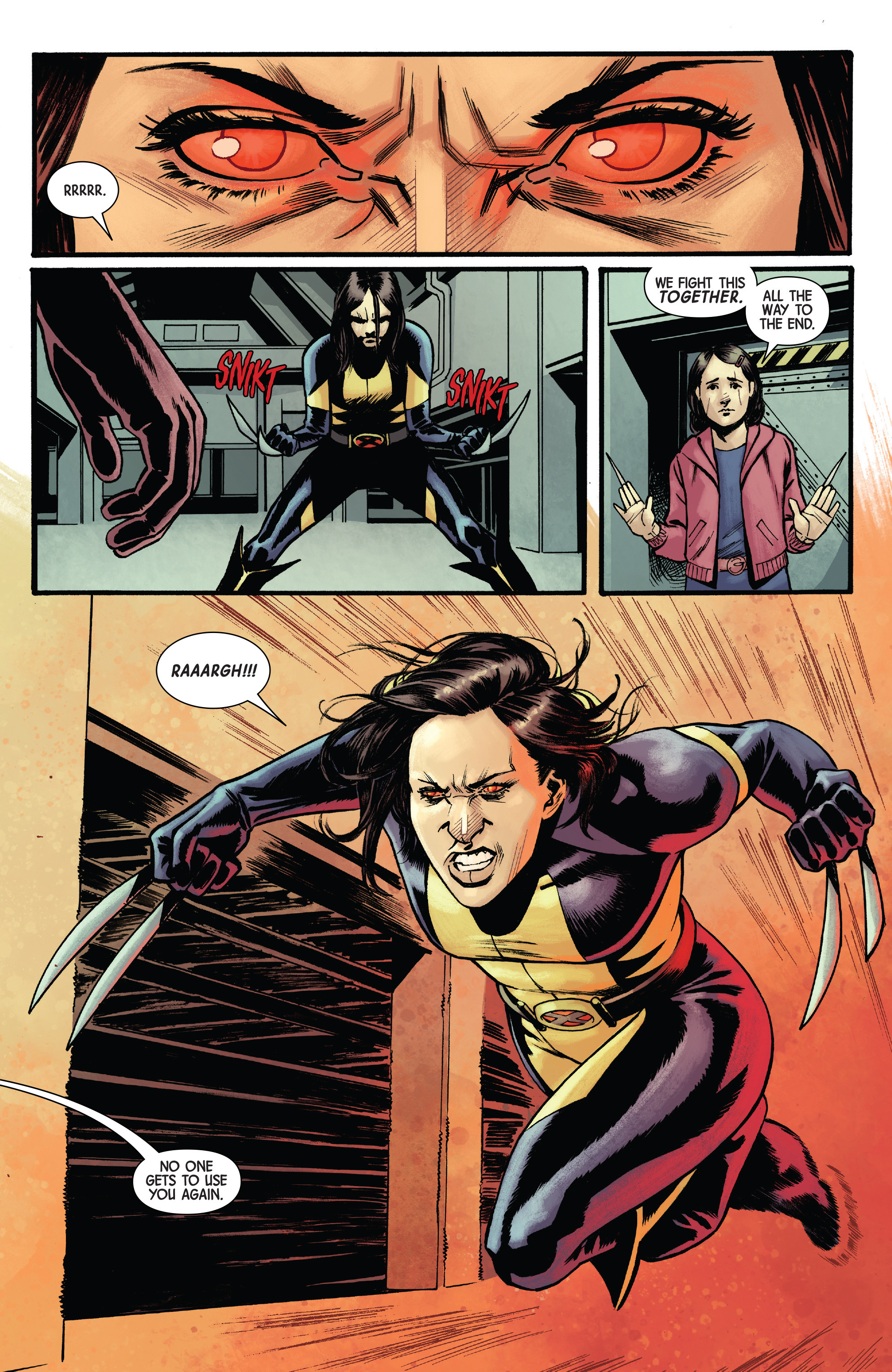 Read online All-New Wolverine (2016) comic -  Issue #17 - 10