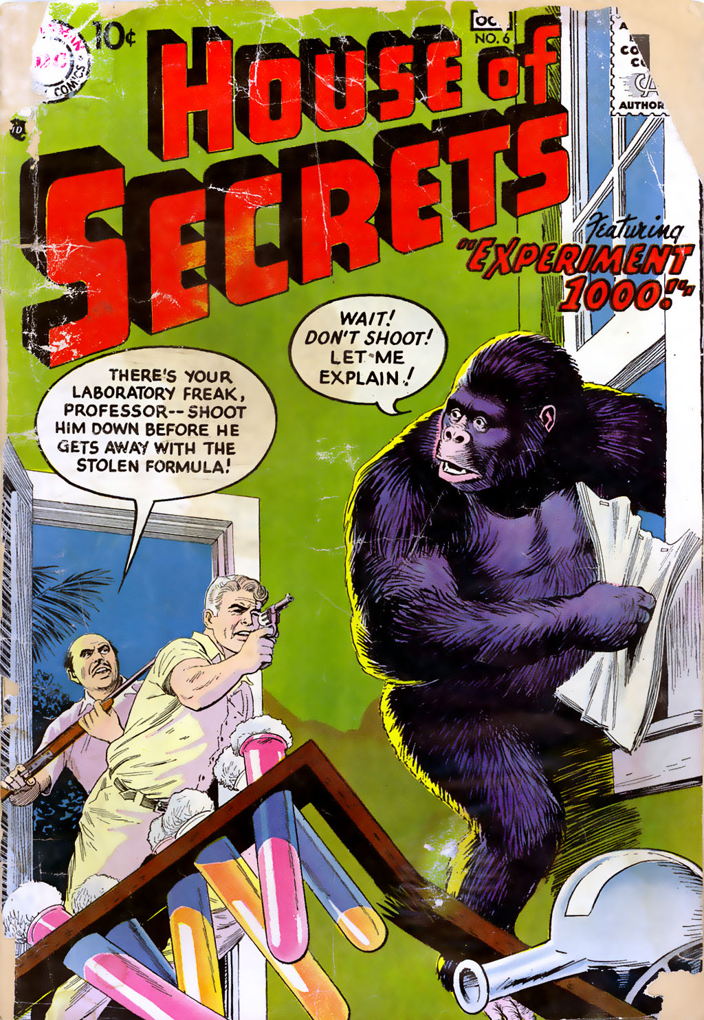 House of Secrets (1956) issue 6 - Page 1