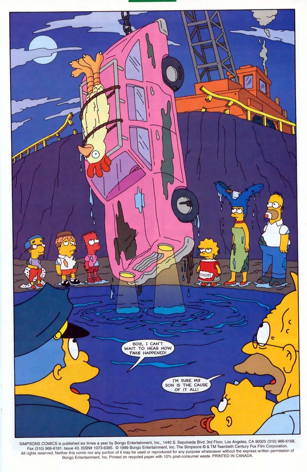 Read online Simpsons Comics comic -  Issue #43 - 2