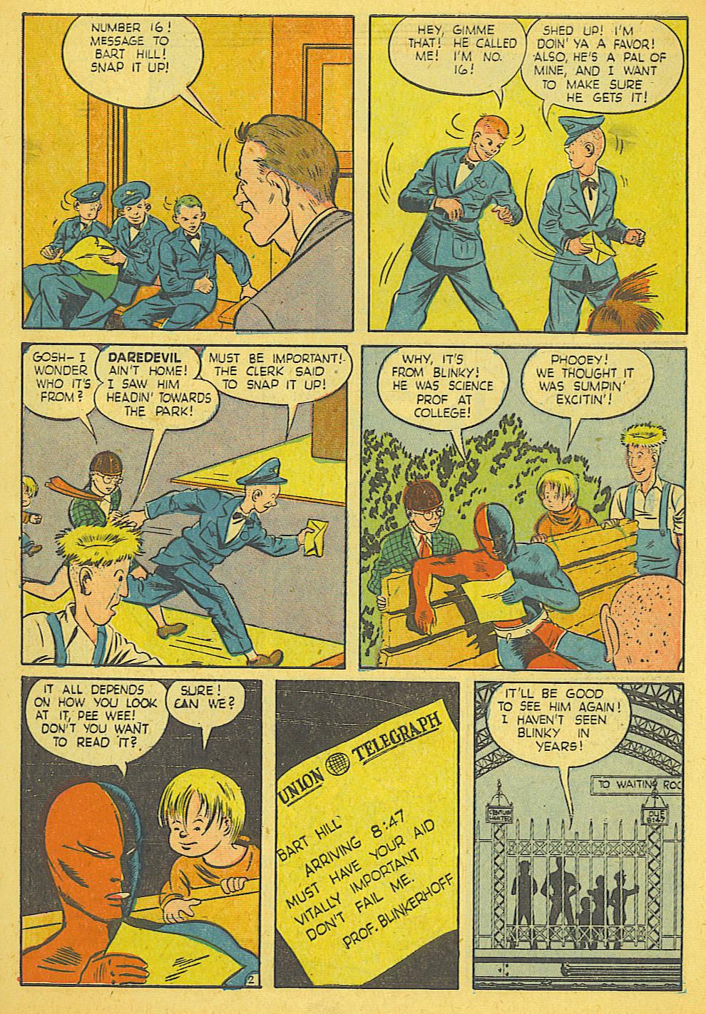 Daredevil (1941) issue 21 - Page 3