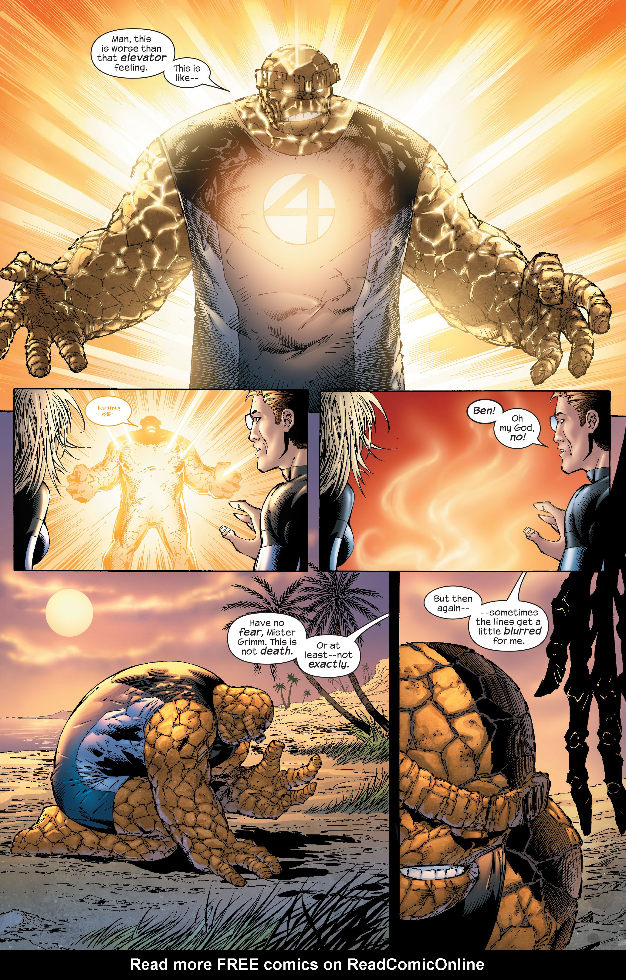 Read online Ultimate Fantastic Four (2004) comic -  Issue #51 - 17