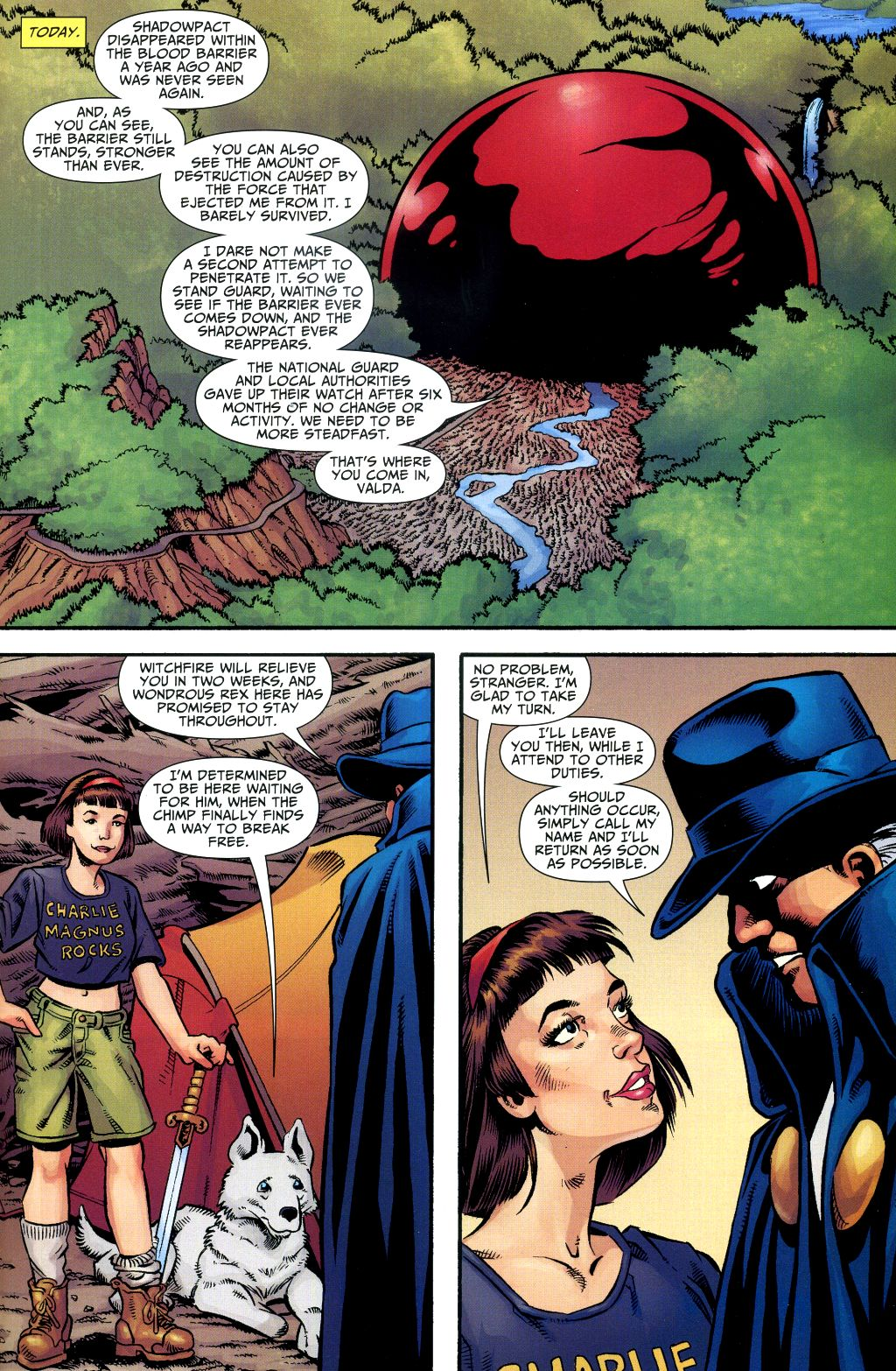 Read online Shadowpact comic -  Issue #1 - 18
