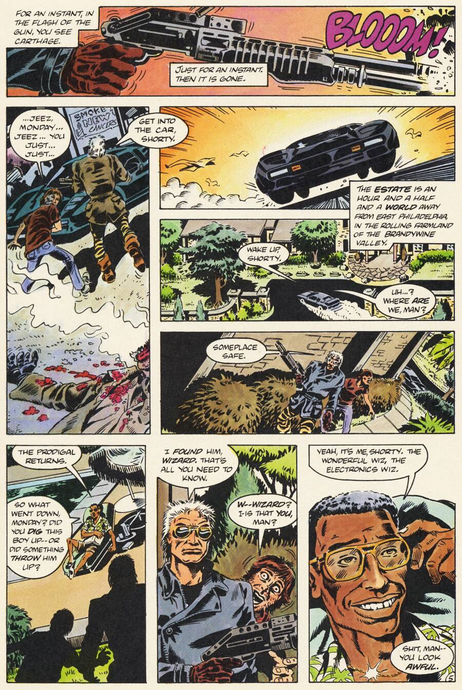 Read online Scout comic -  Issue #12 - 28
