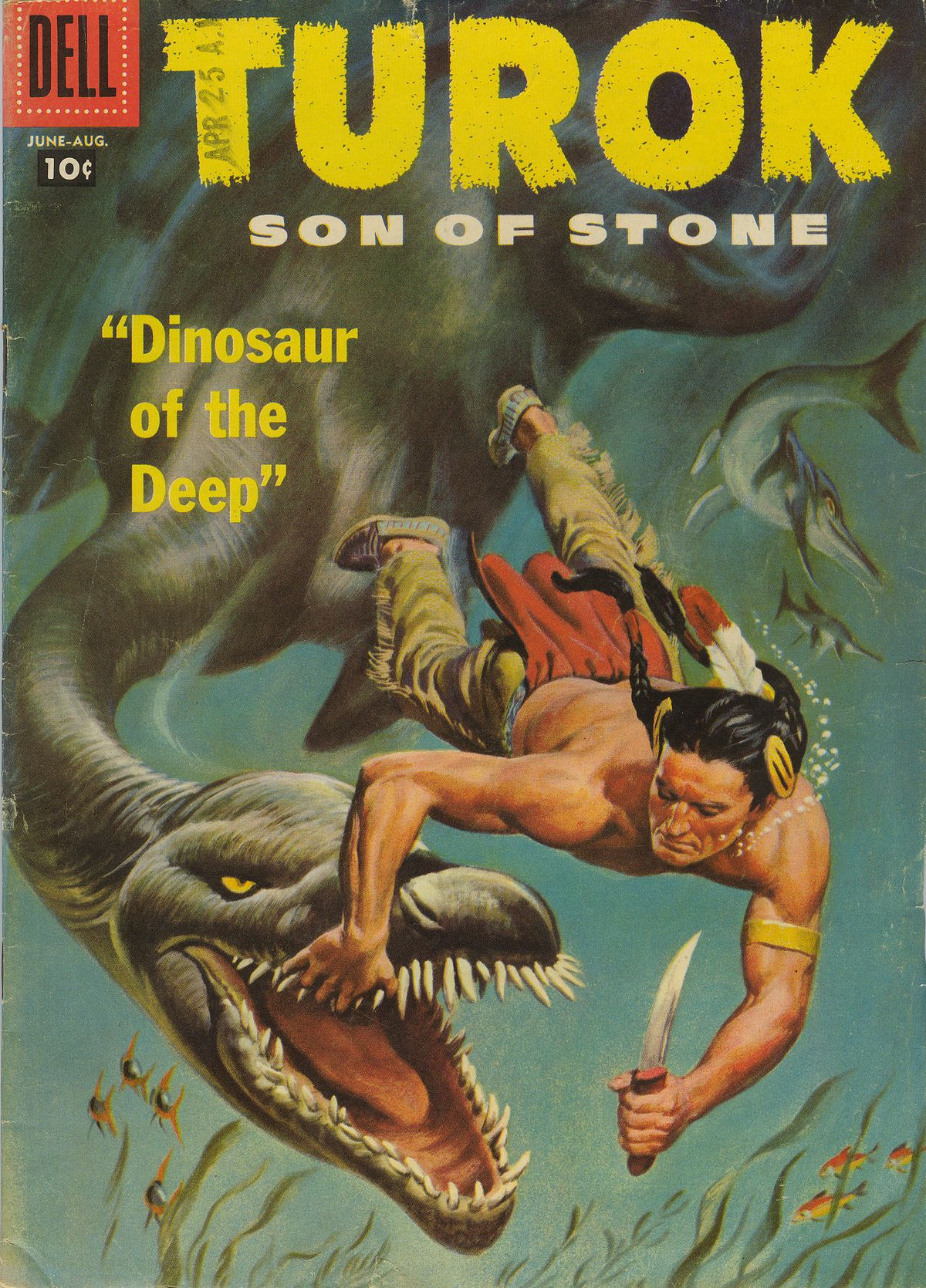 Read online Turok, Son of Stone comic -  Issue #8 - 1