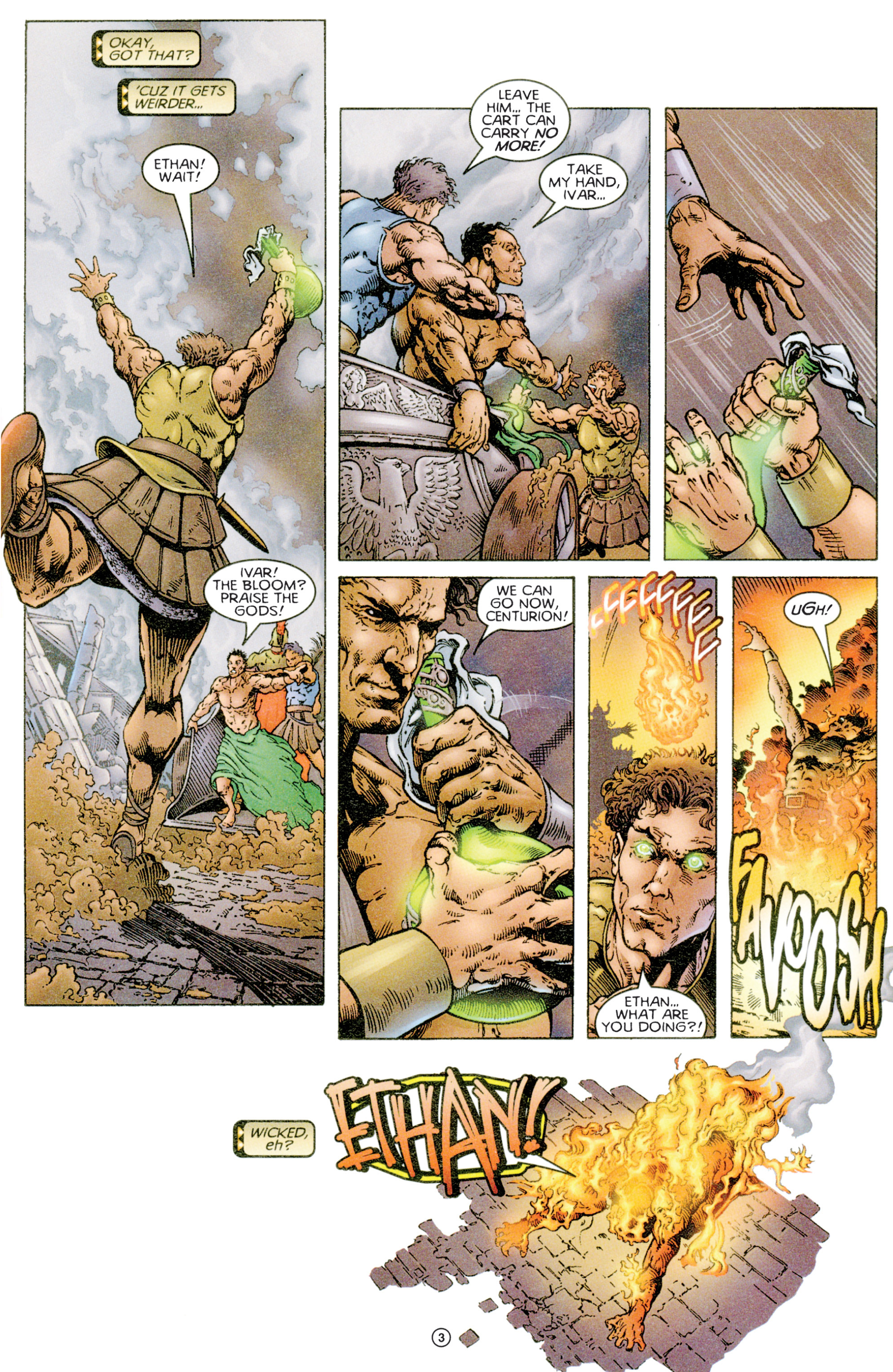 Read online Eternal Warriors comic -  Issue # Issue Time & Treachery - 4