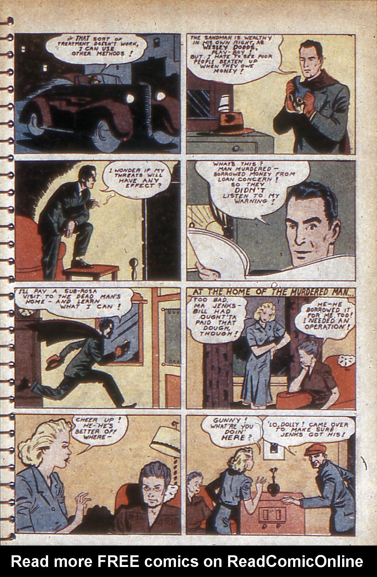Read online Adventure Comics (1938) comic -  Issue #53 - 60