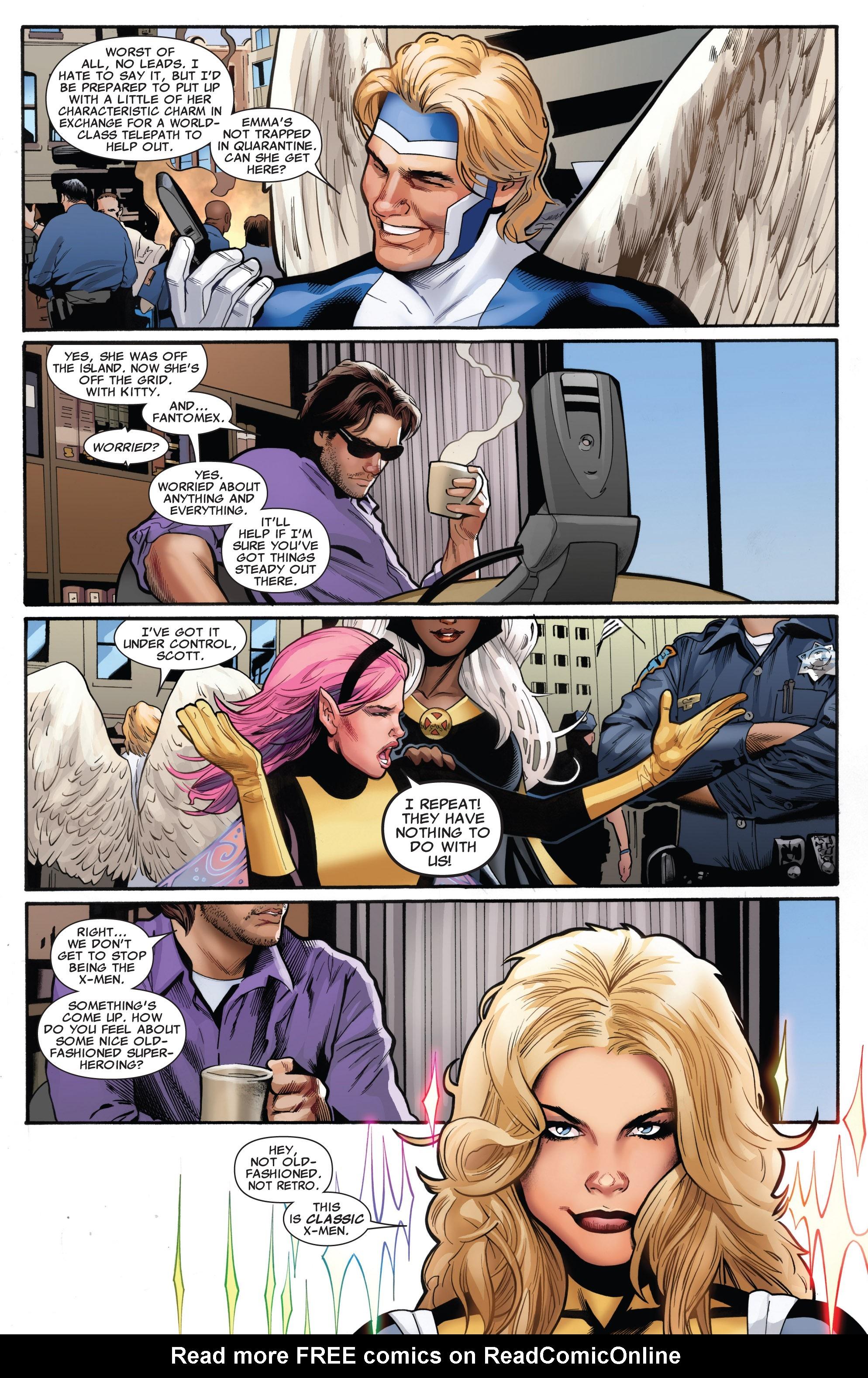 Read online Uncanny X-Men (1963) comic -  Issue #531 - 11