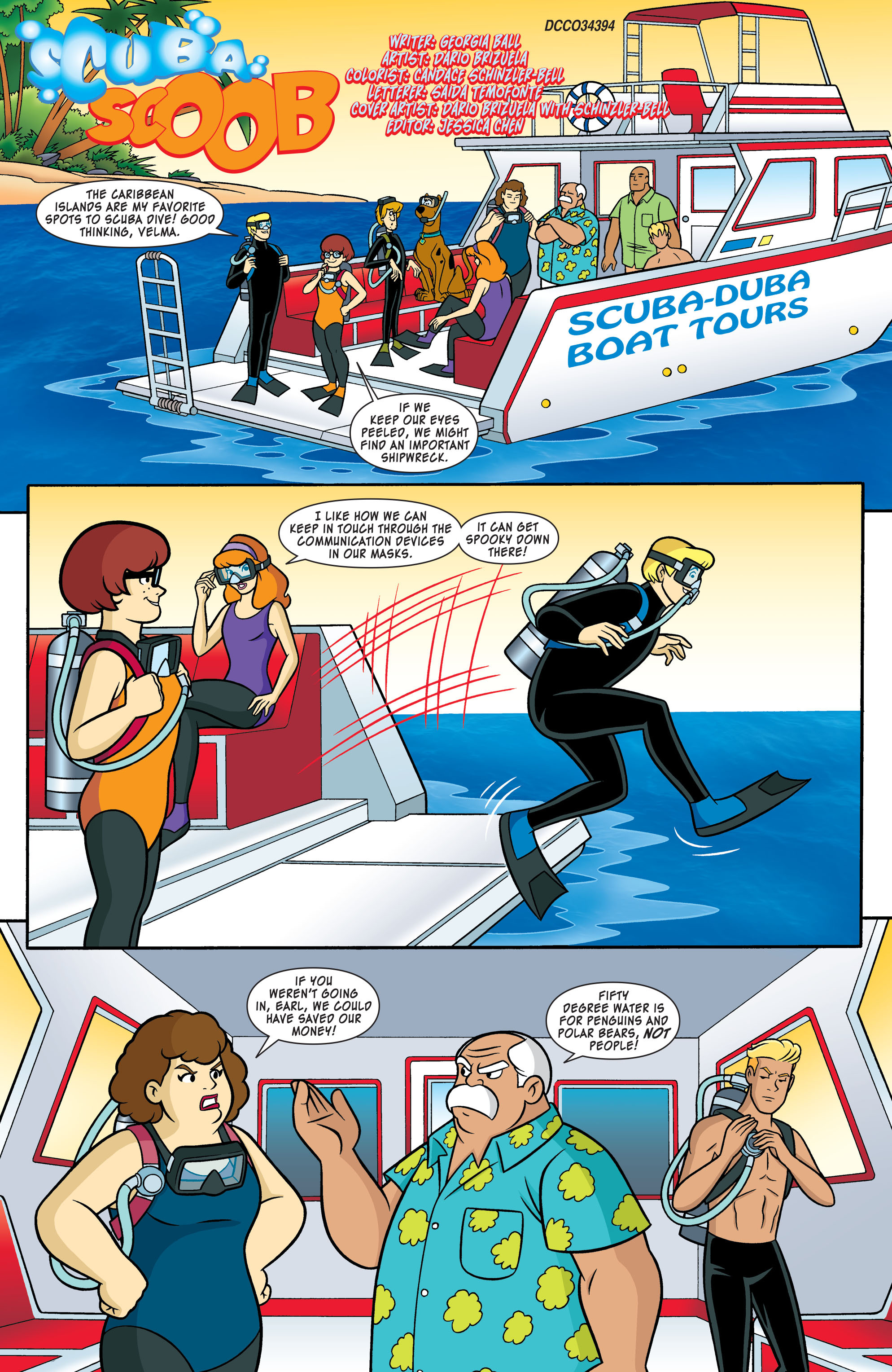 Read online Scooby-Doo: Where Are You? comic -  Issue #54 - 2