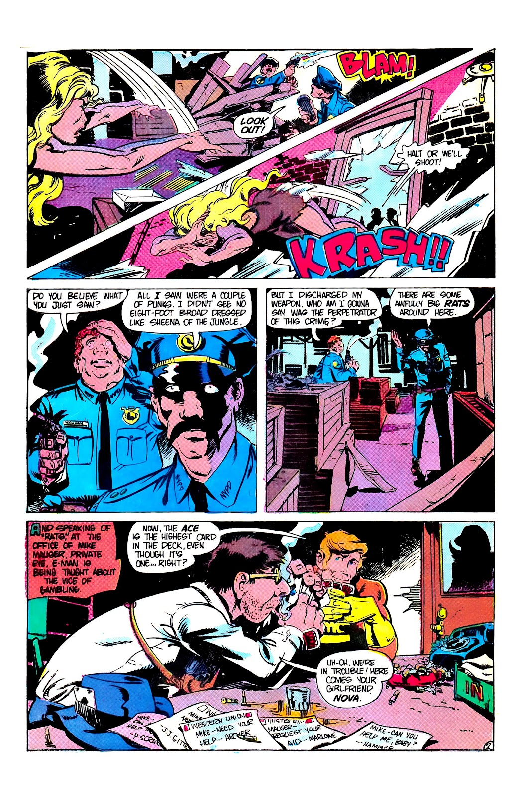 E-Man (1973) issue 8 - Page 4