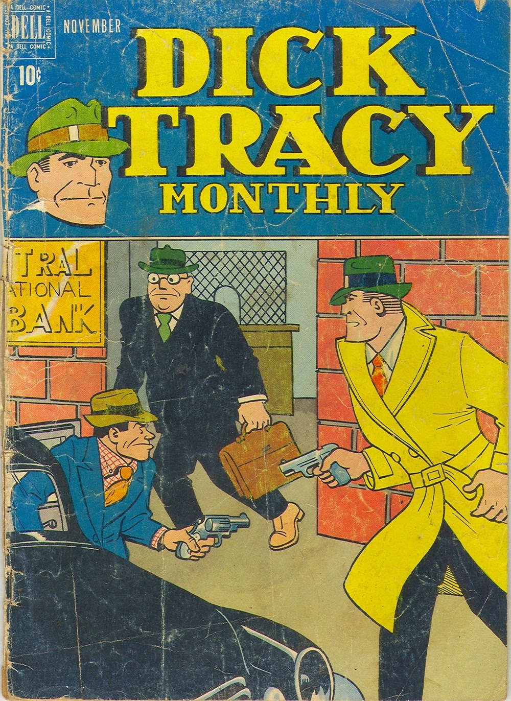 Dick Tracy Monthly 11 Page 1