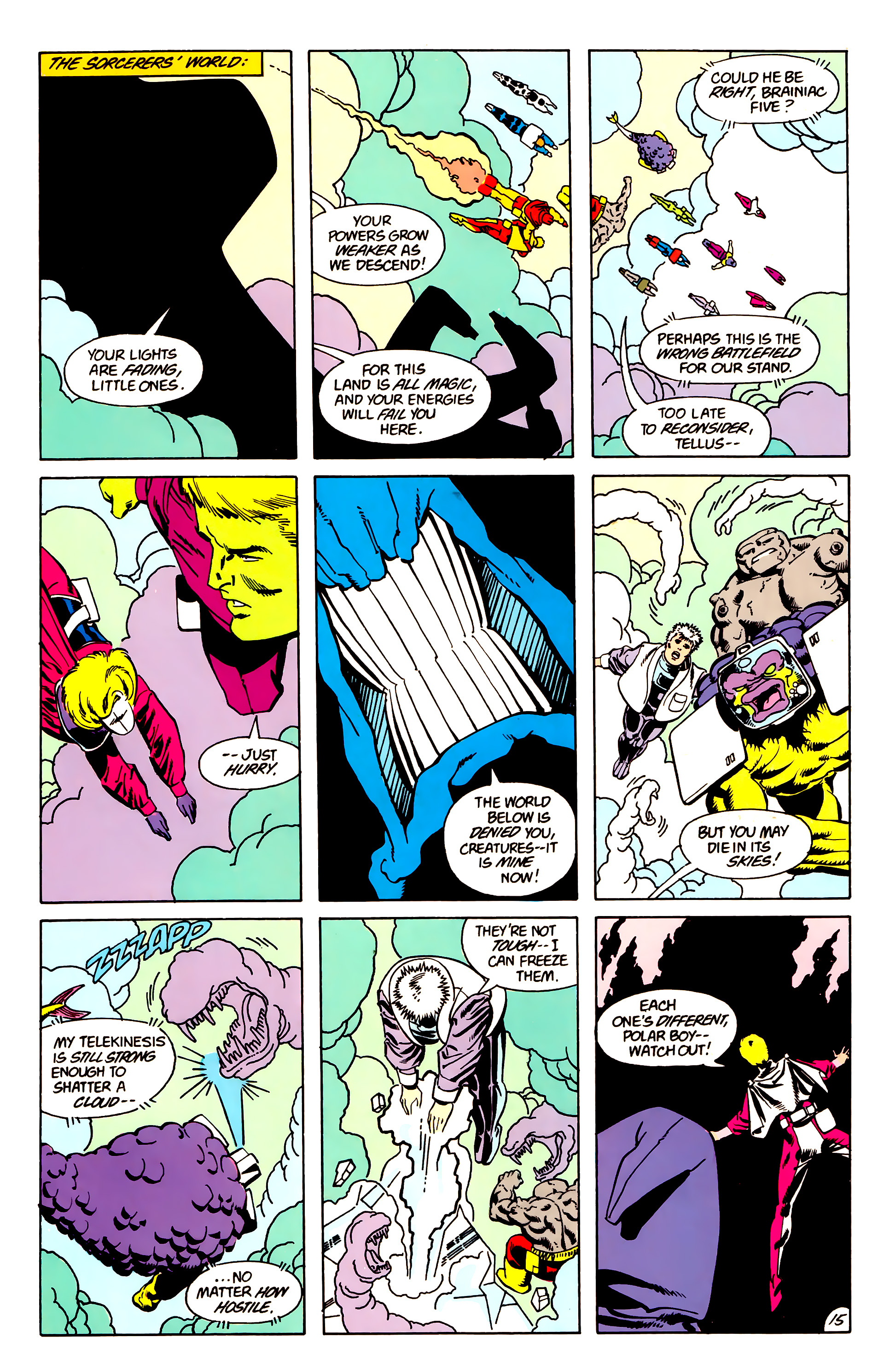 Legion of Super-Heroes (1984) 63 Page 15