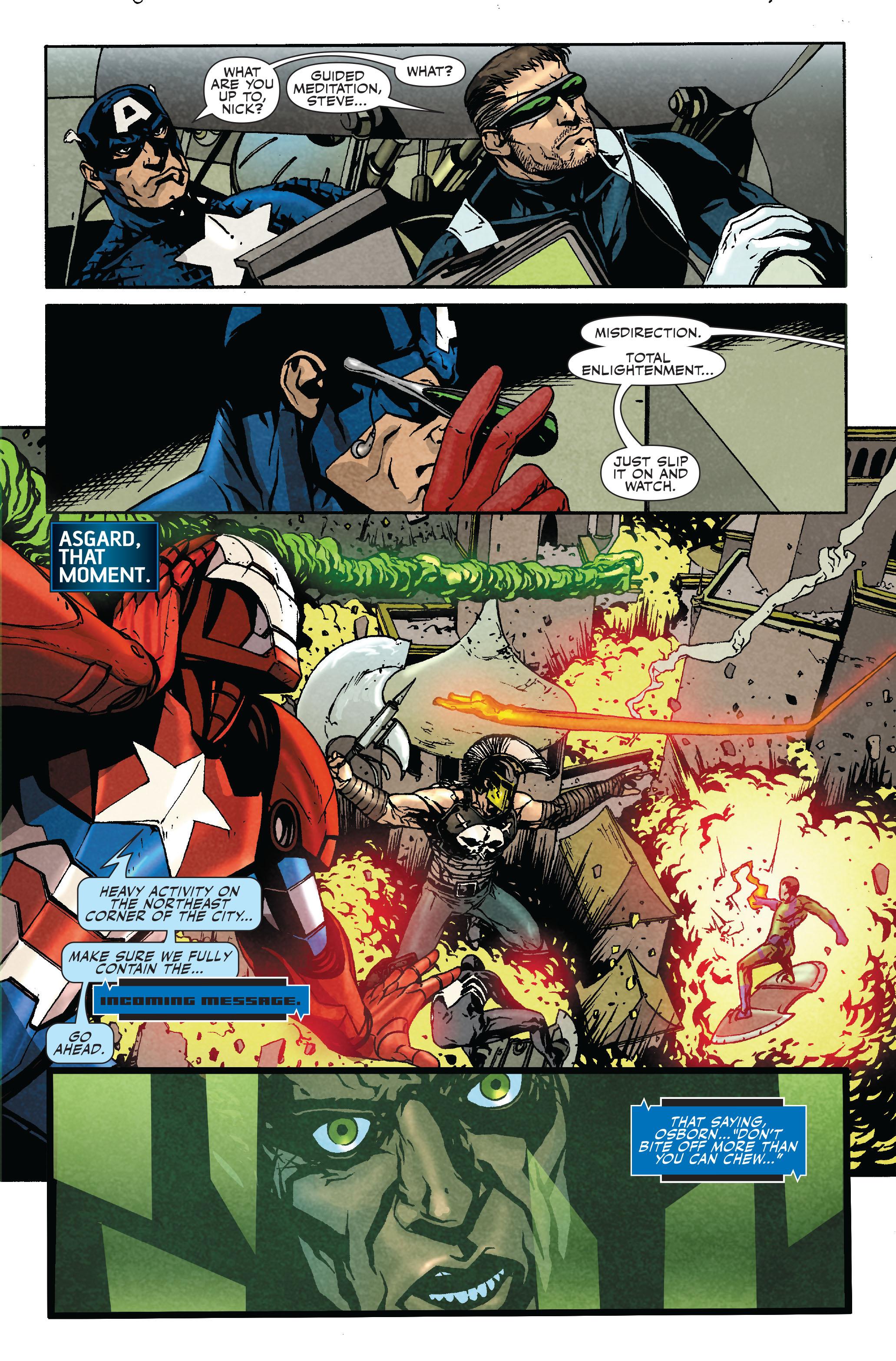 Read online Siege: Secret Warriors comic -  Issue # Full - 8