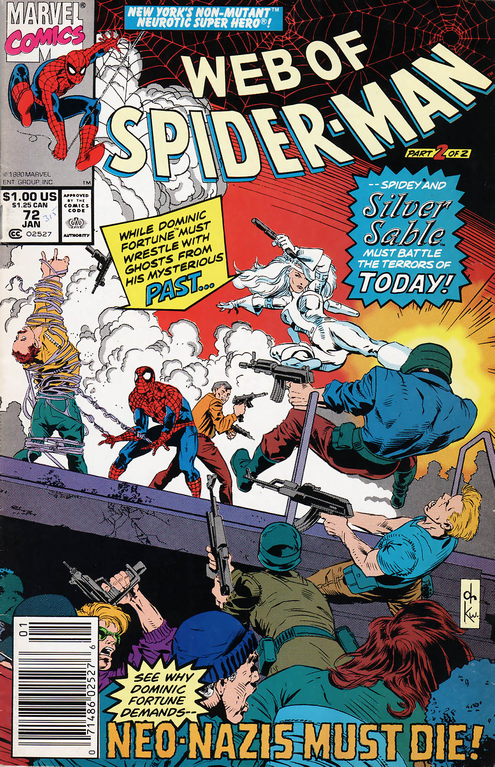 Web of Spider-Man (1985) 72 Page 1