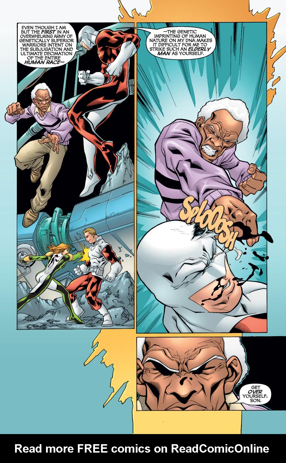 Read online Alpha Flight (2004) comic -  Issue #5 - 14
