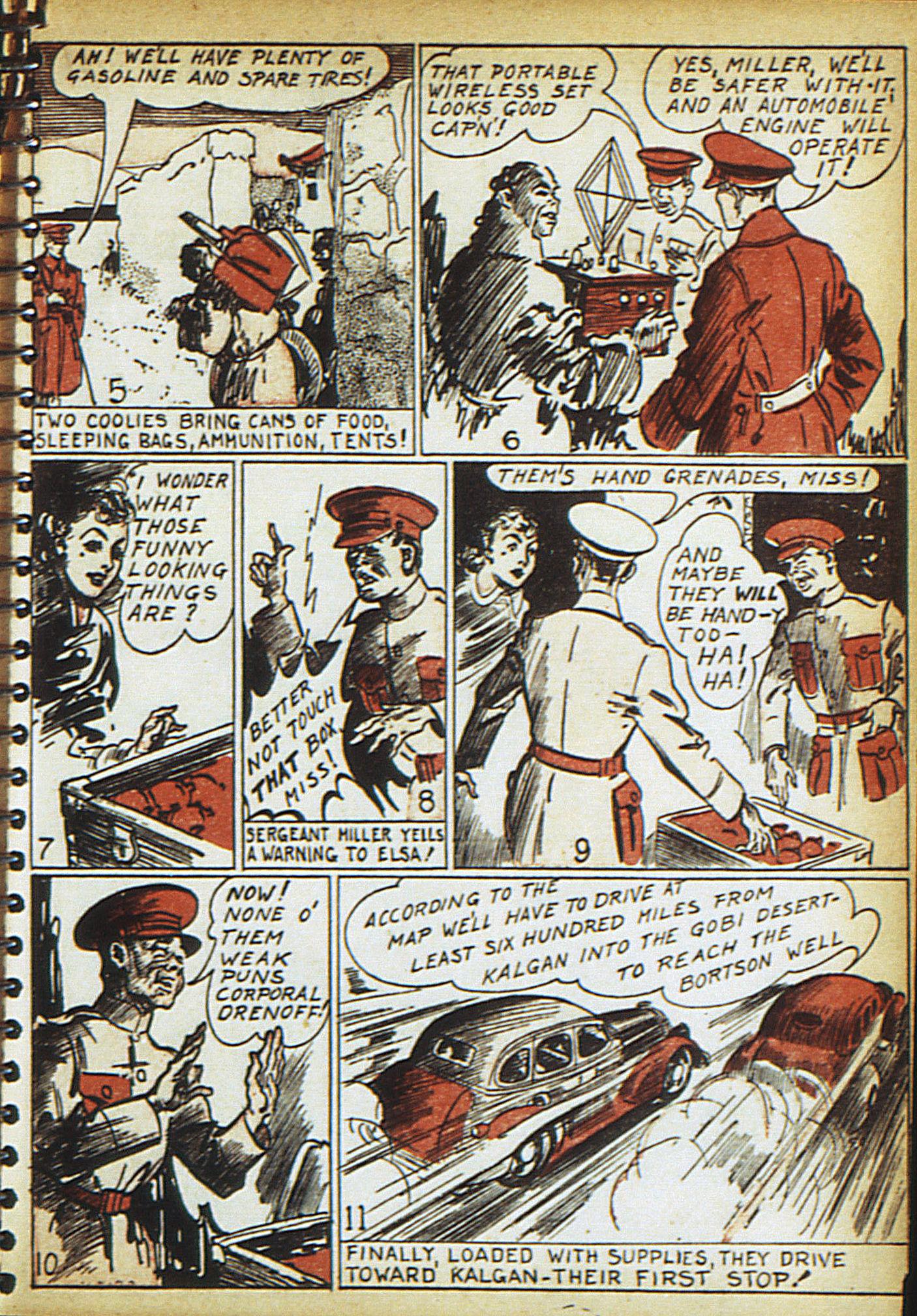 Read online Adventure Comics (1938) comic -  Issue #18 - 32