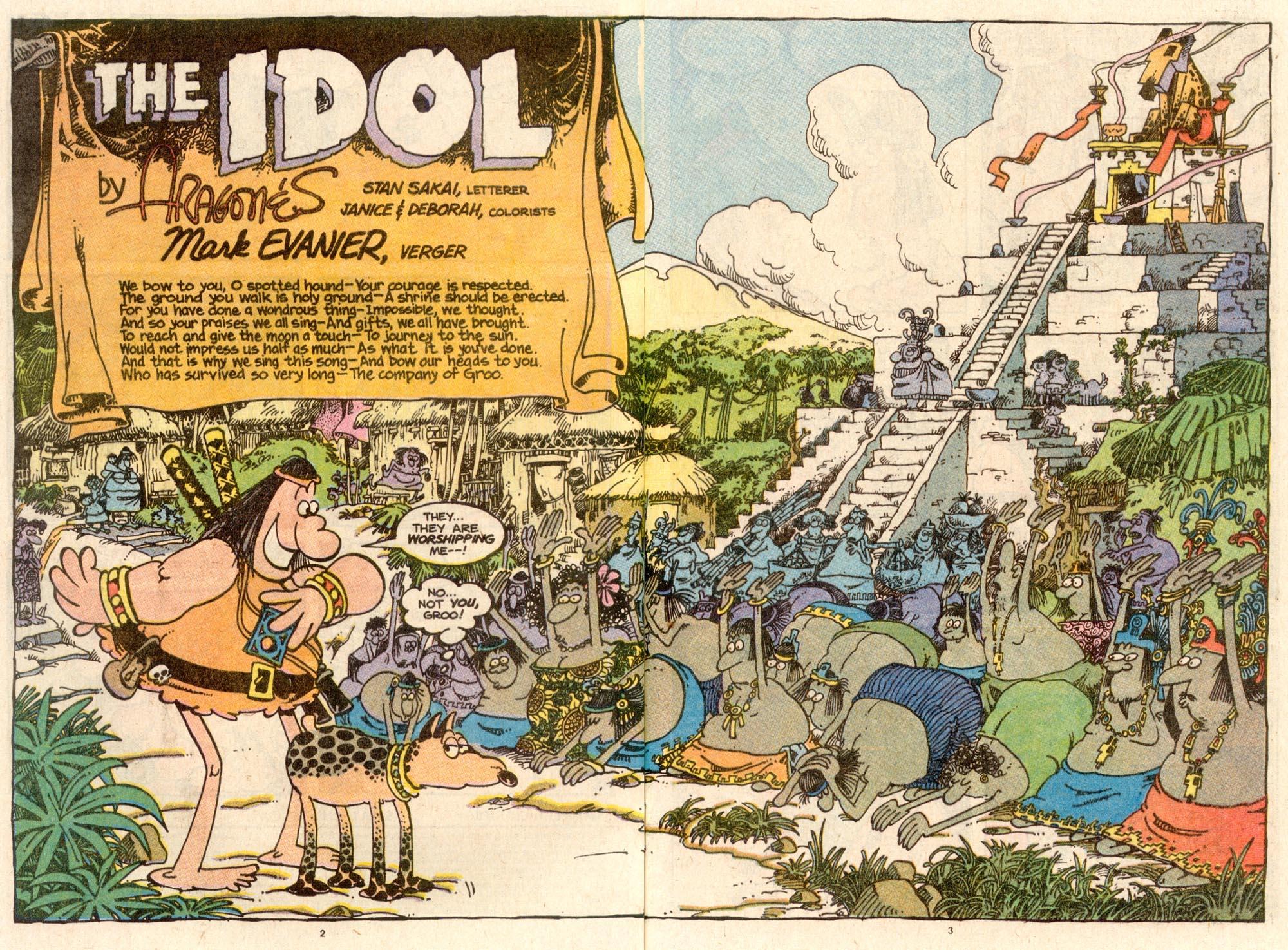 Read online Sergio Aragonés Groo the Wanderer comic -  Issue #58 - 3