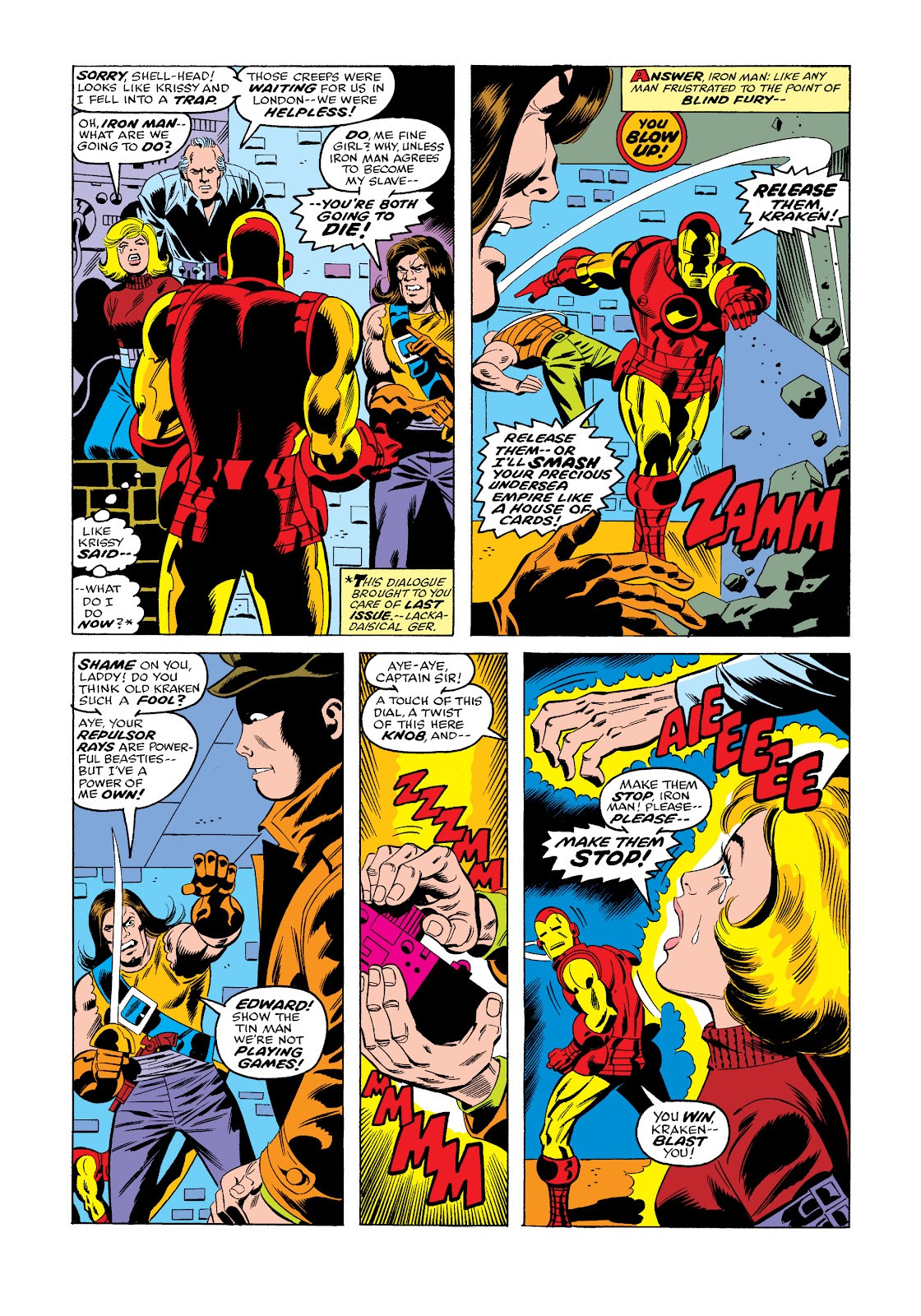 Read online Marvel Masterworks: The Invincible Iron Man comic -  Issue # TPB 11 (Part 3) - 68