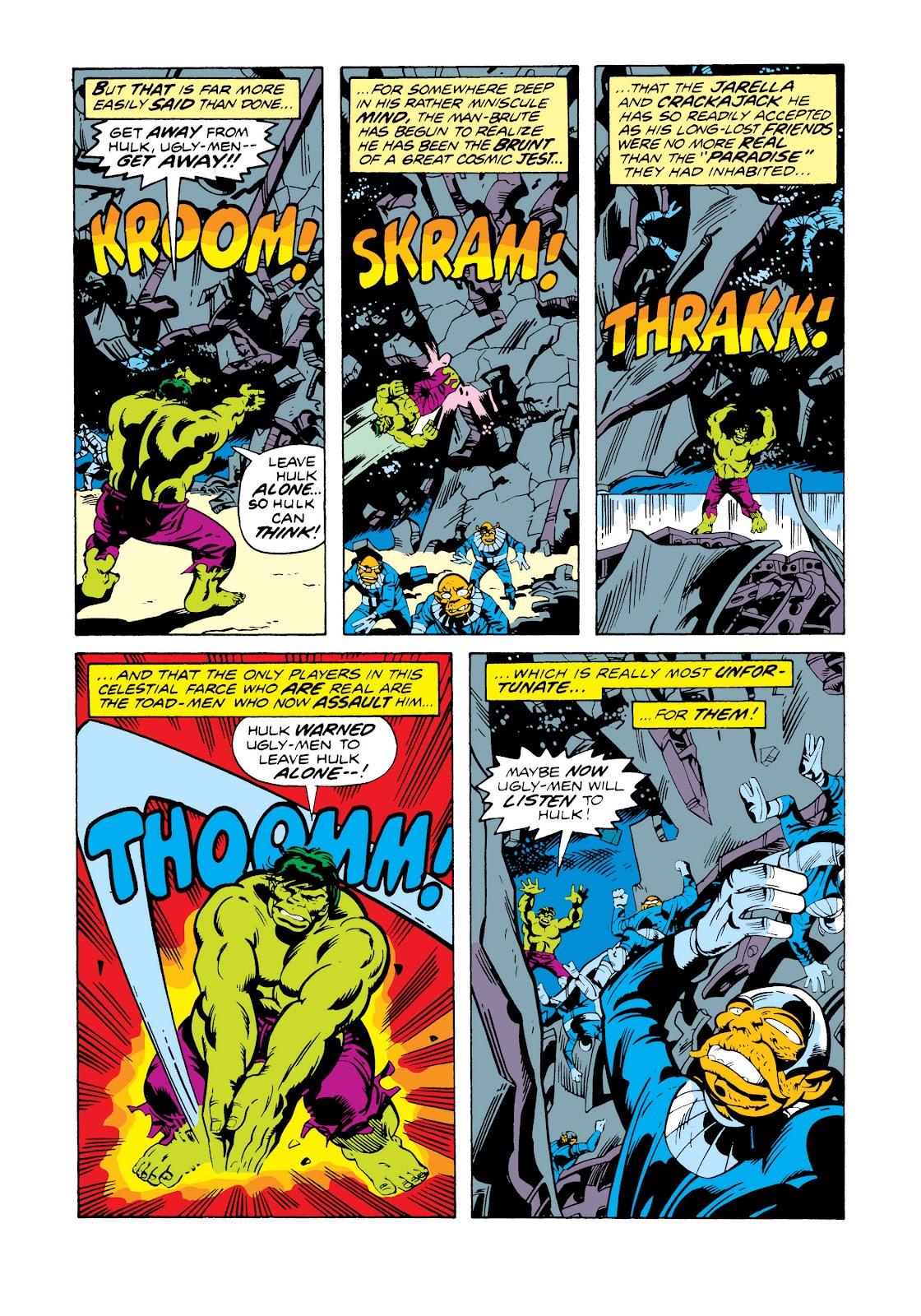 Read online Marvel Masterworks: The Incredible Hulk comic -  Issue # TPB 11 (Part 2) - 54