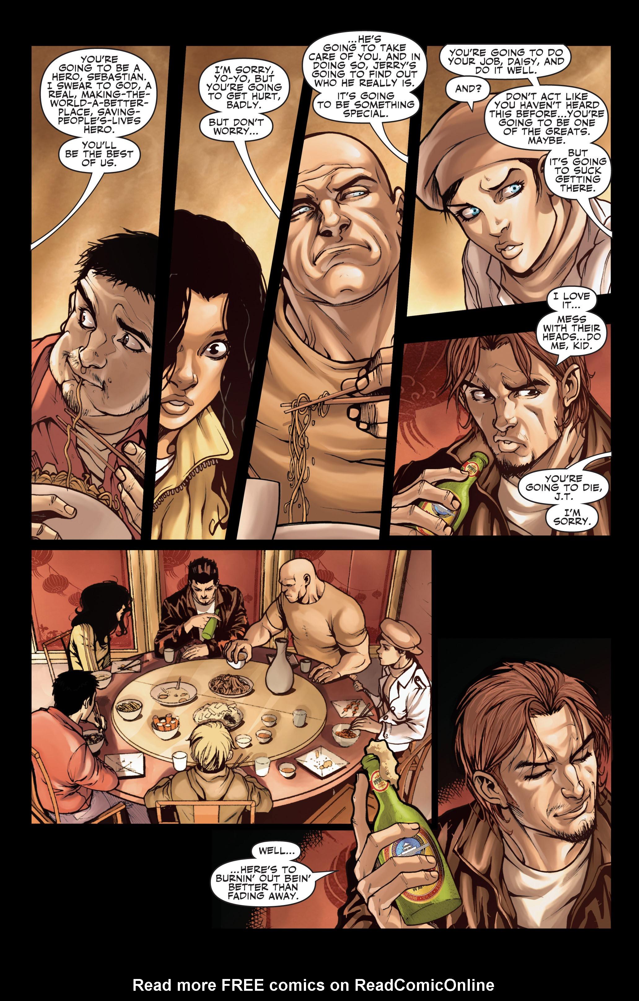 Read online Secret Warriors comic -  Issue #2 - 16