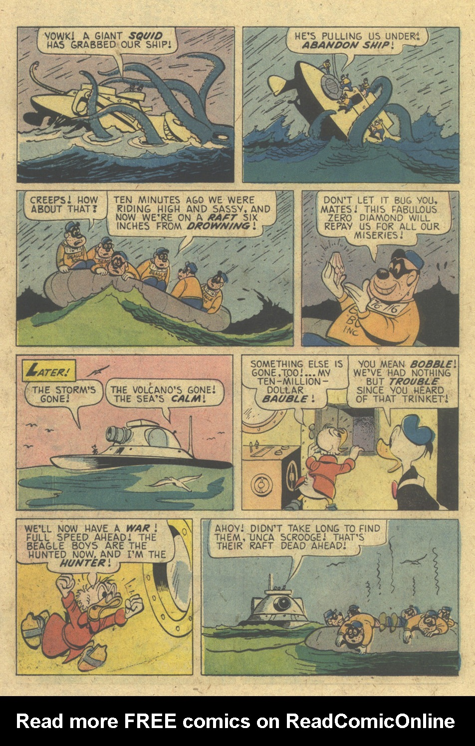 Read online Uncle Scrooge (1953) comic -  Issue #133 - 26