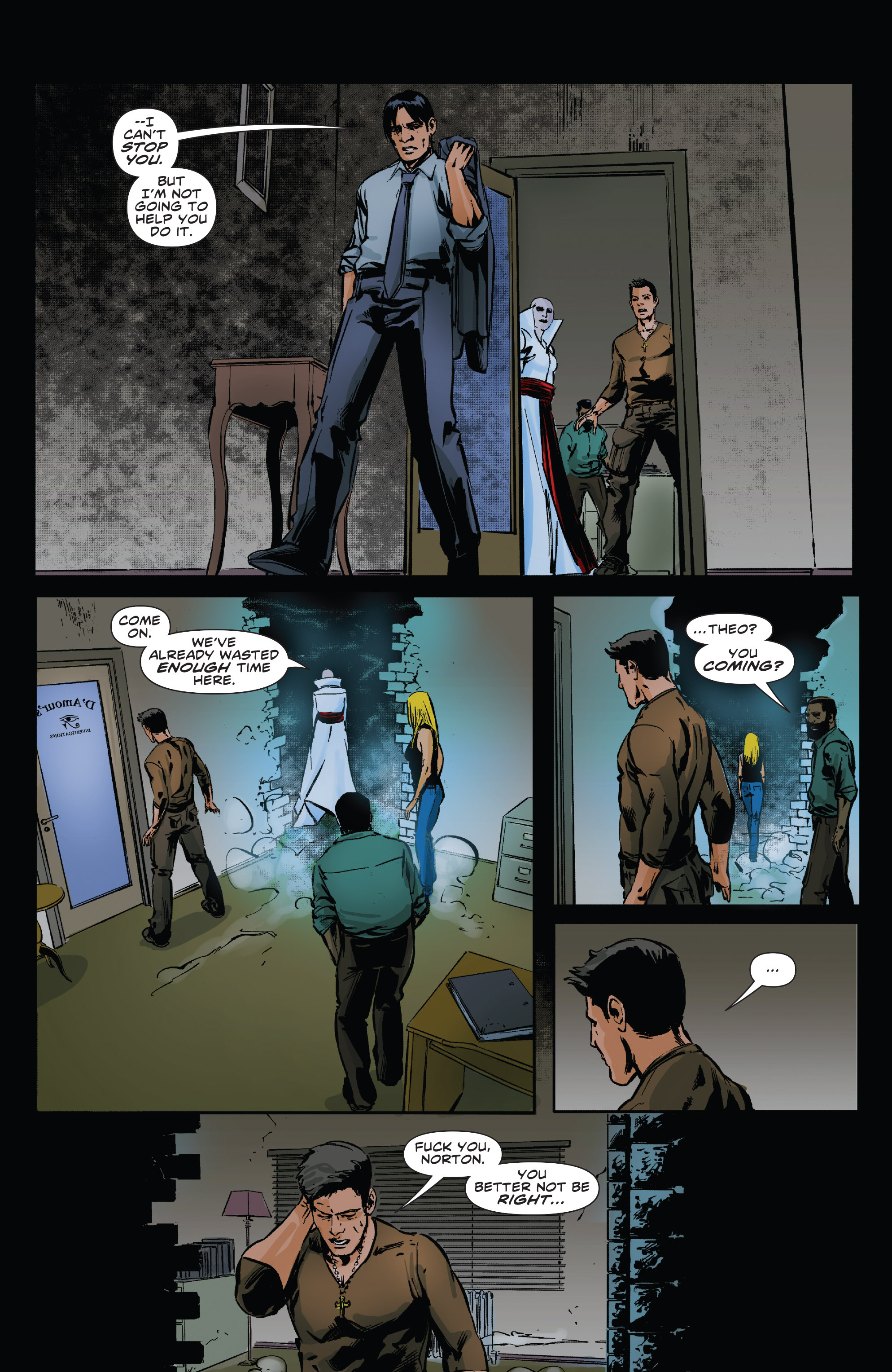 Read online Clive Barker's Hellraiser: The Dark Watch comic -  Issue # TPB 3 - 43