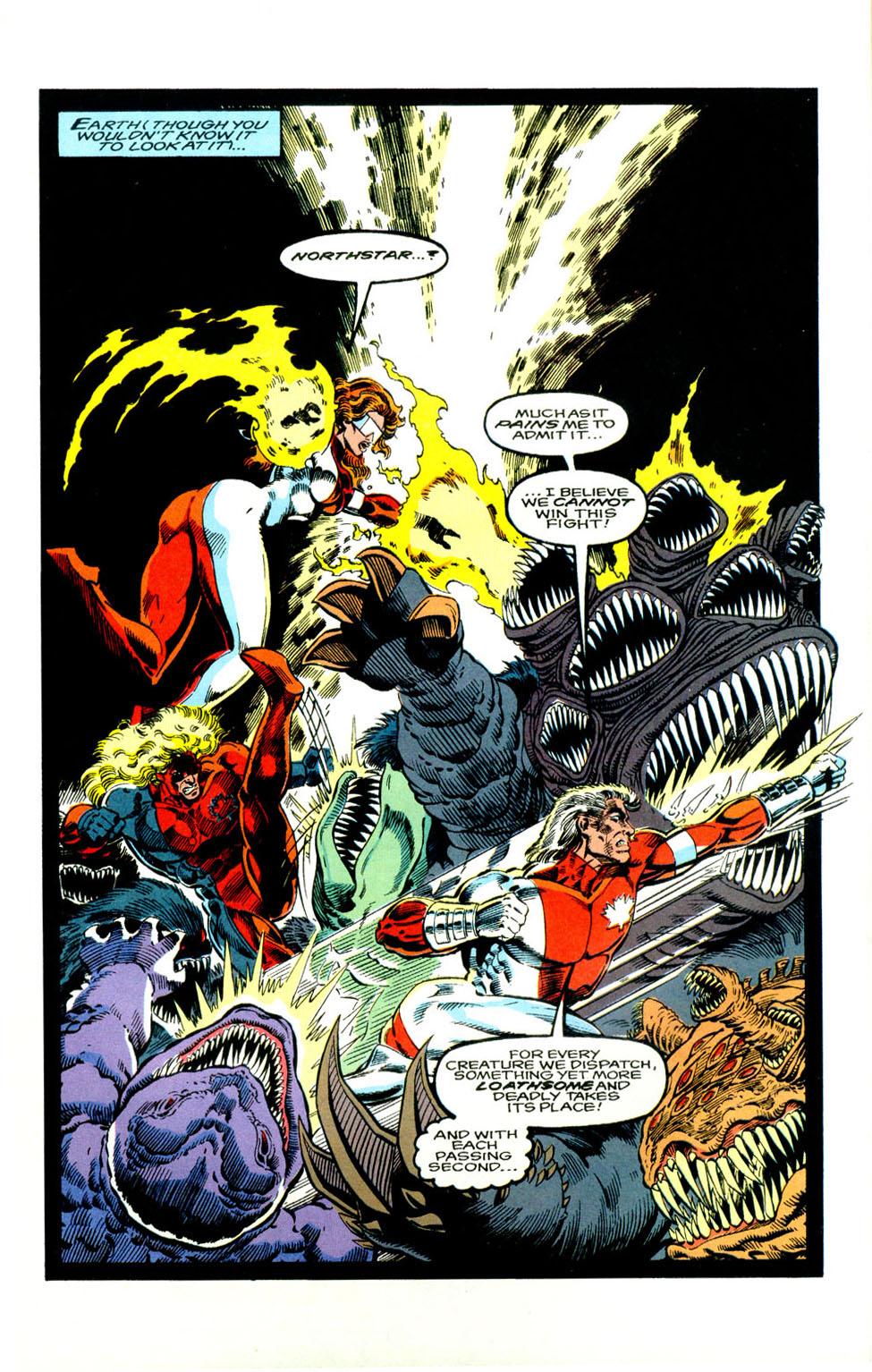 Read online Alpha Flight (1983) comic -  Issue #123 - 10
