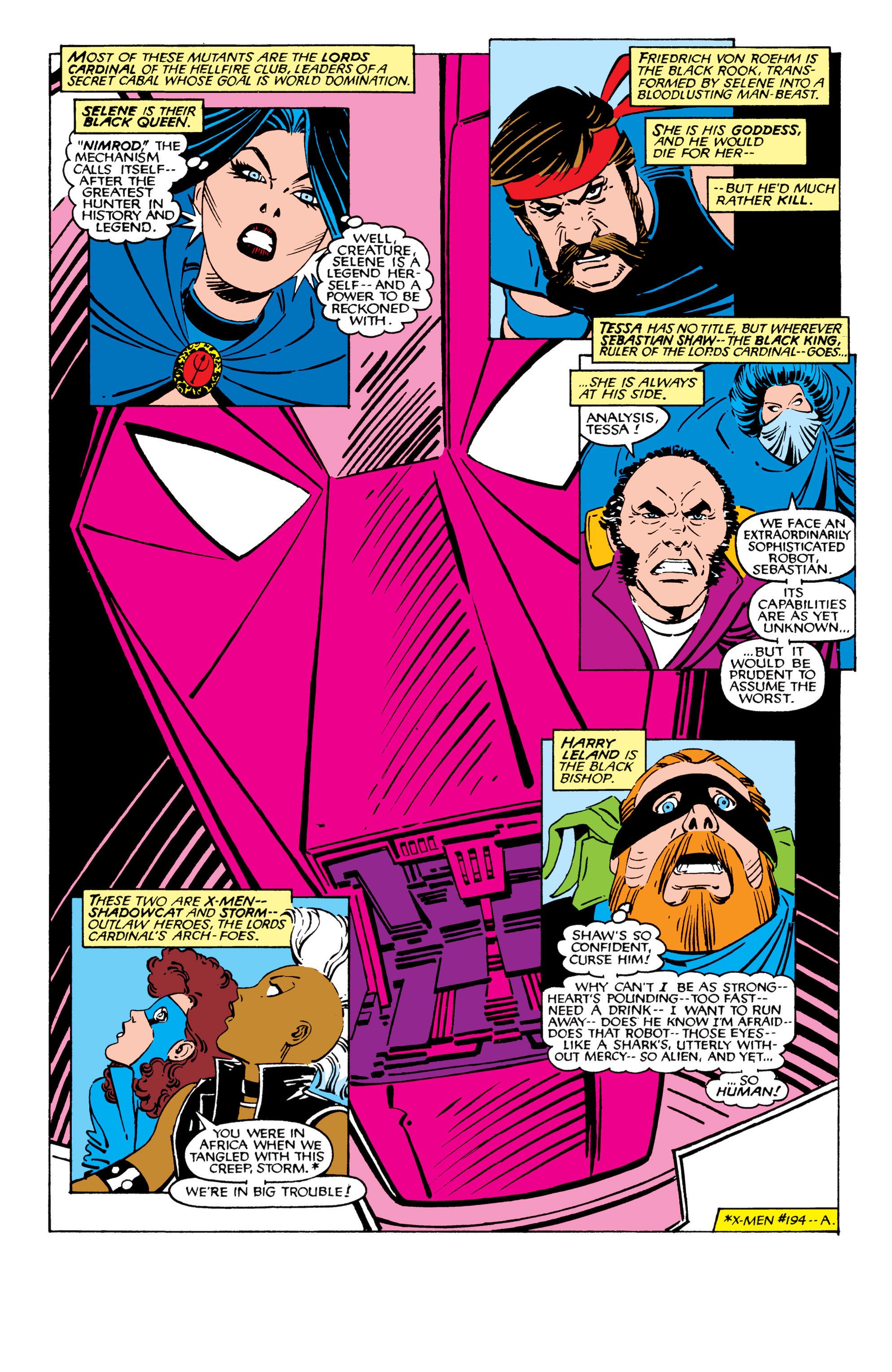 Read online Uncanny X-Men (1963) comic -  Issue #209 - 3