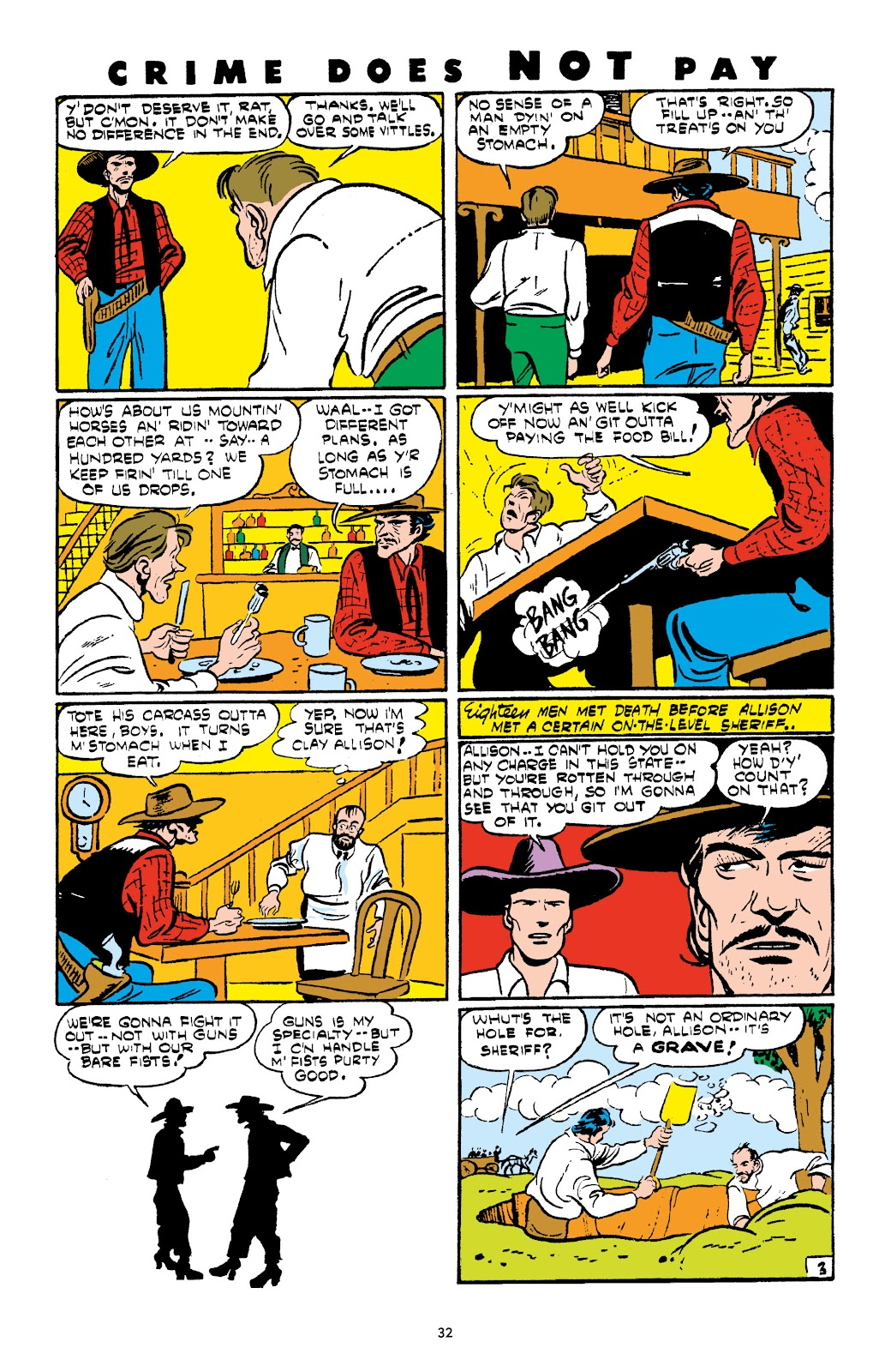 Read online Crime Does Not Pay Archives comic -  Issue # TPB 4 (Part 1) - 32
