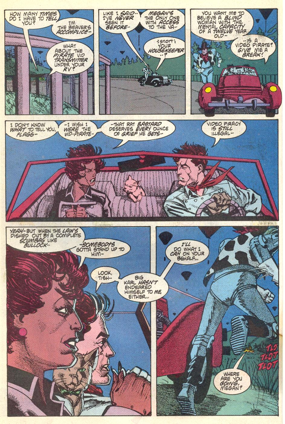 Read online American Flagg! comic -  Issue #17 - 7