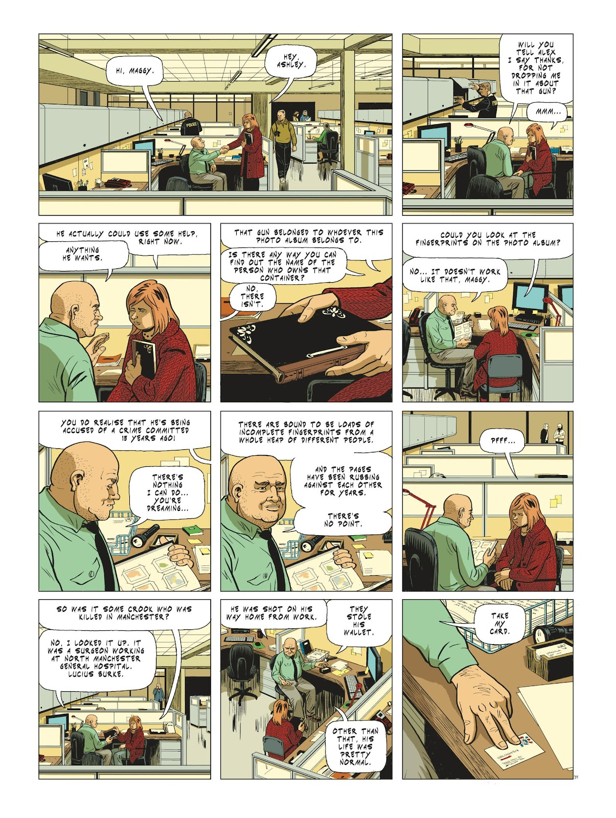 Read online Maggy Garrisson comic -  Issue #3 - 36