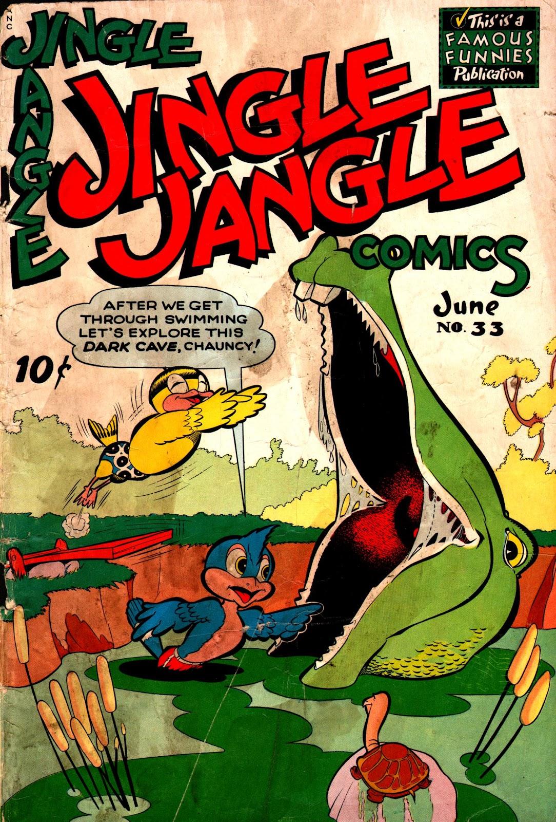 Jingle Jangle Comics 33 Page 1
