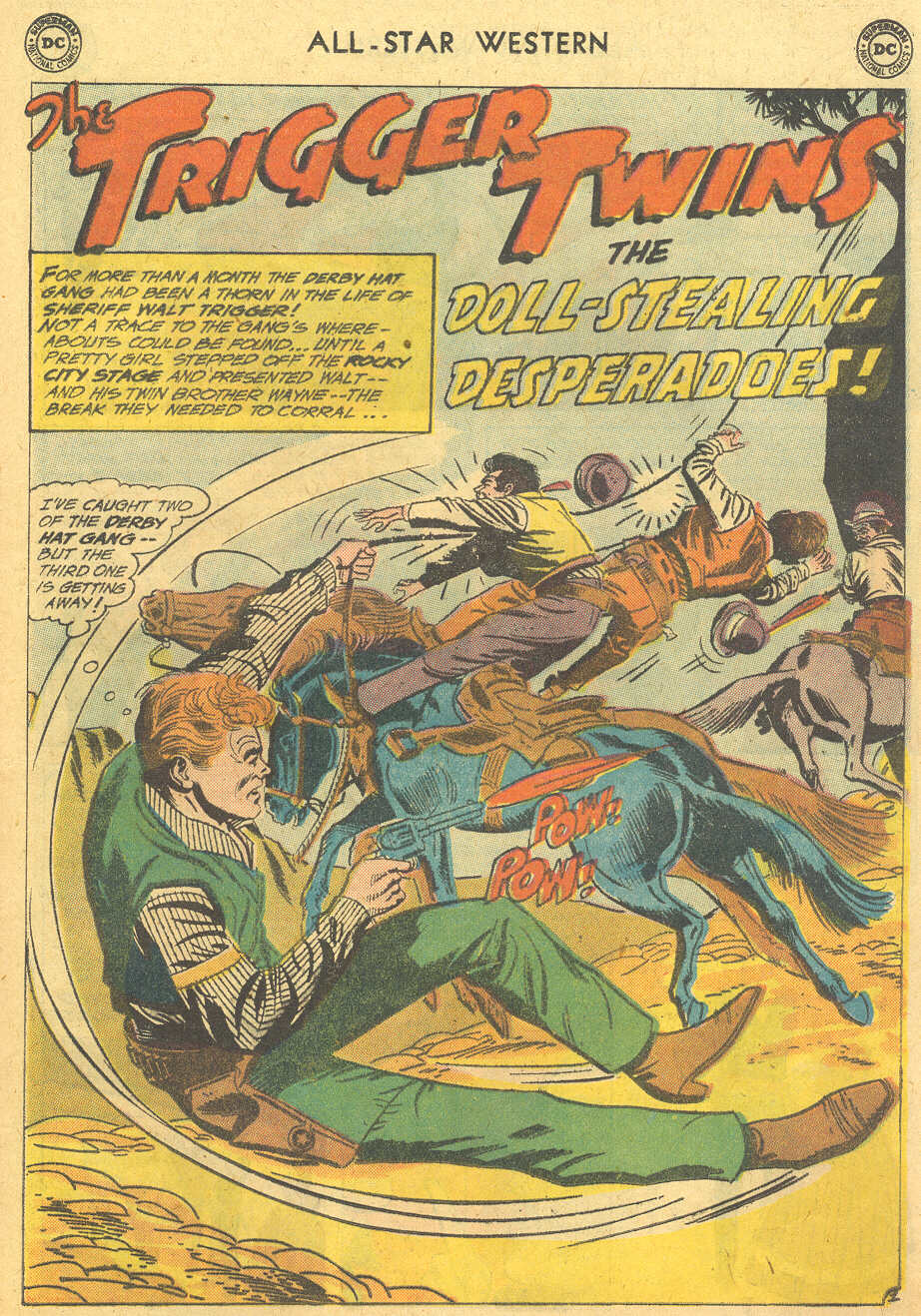 Read online All-Star Western (1951) comic -  Issue #114 - 25