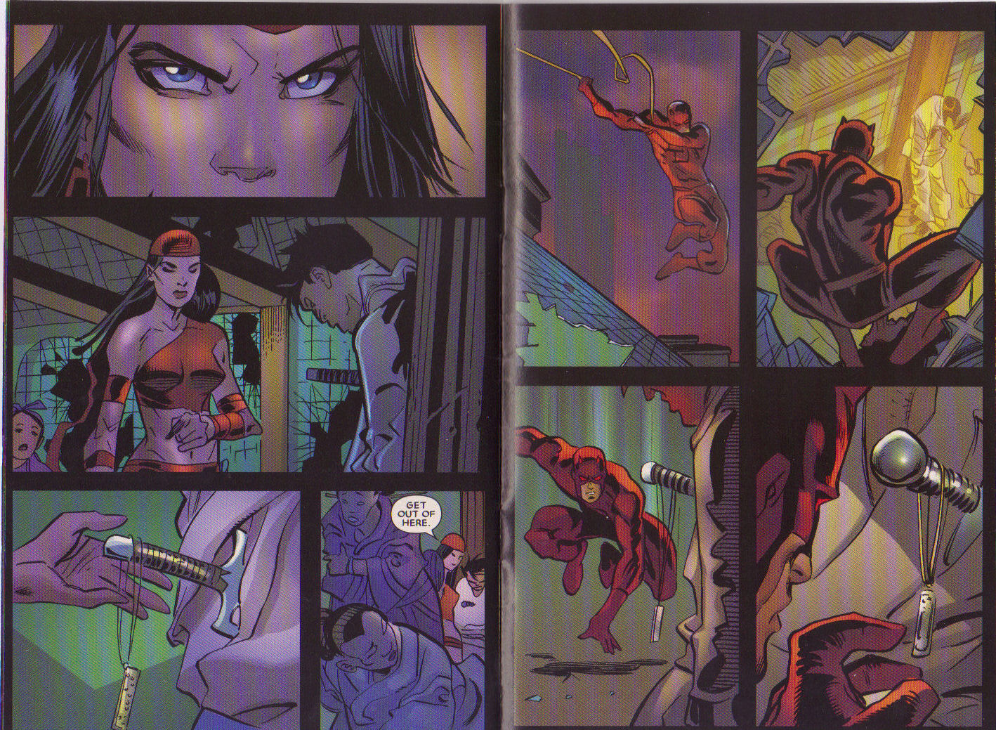 Read online Elektra: On the Rise comic -  Issue # Full - 12