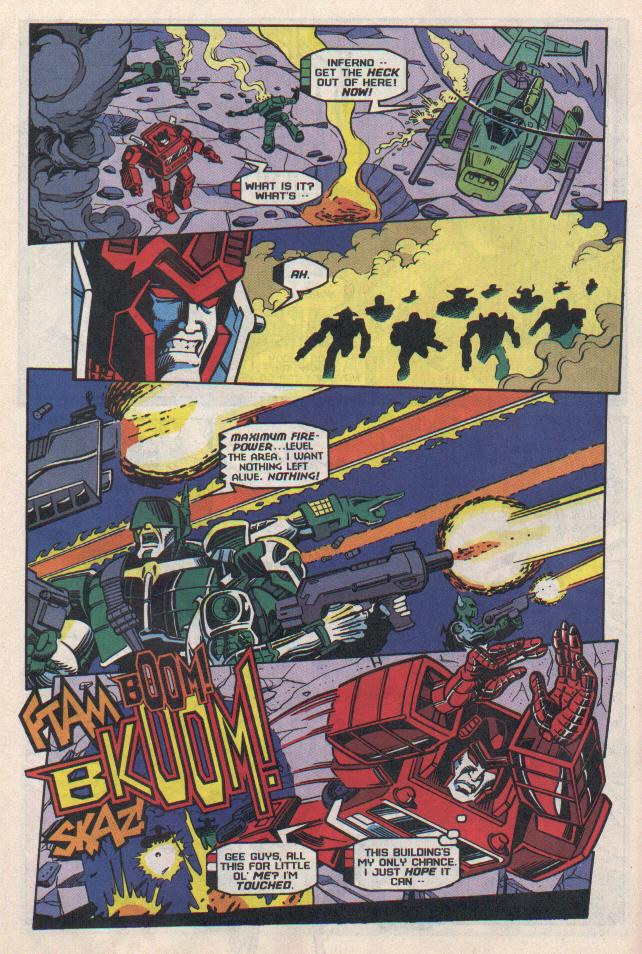 Read online Transformers: Generation 2 comic -  Issue #8 - 16
