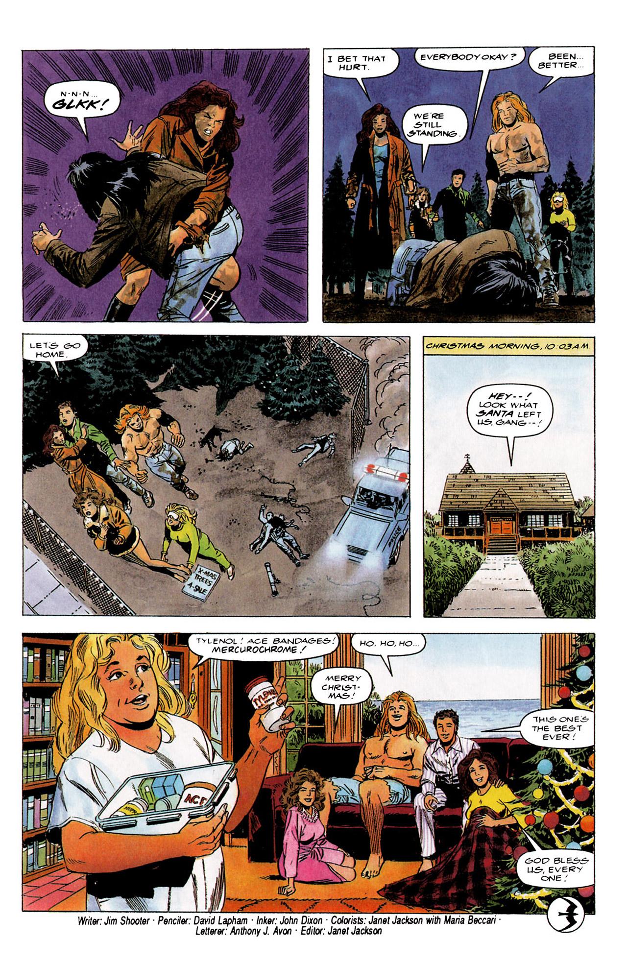 Read online Harbinger (1992) comic -  Issue #4 - 23