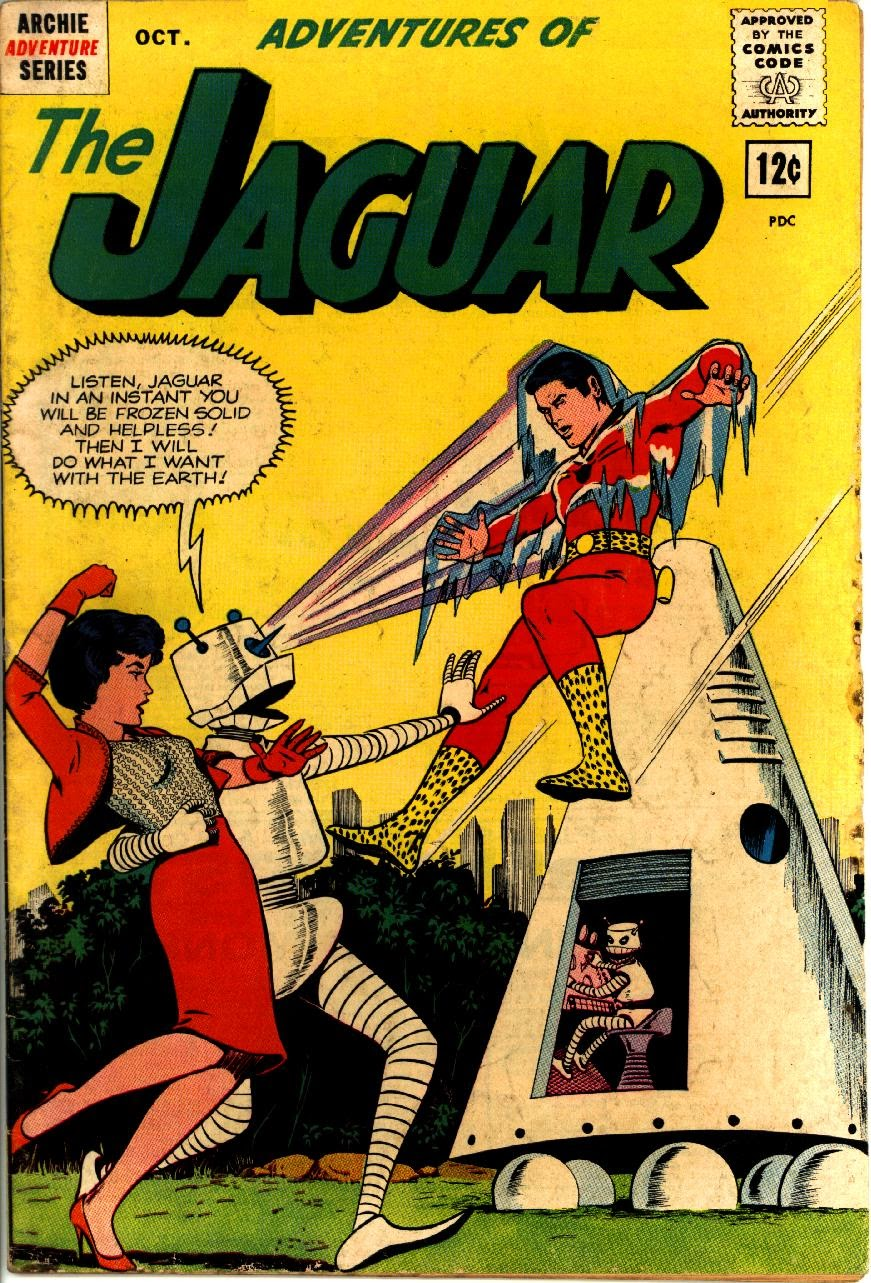 Adventures of the Jaguar issue 9 - Page 1