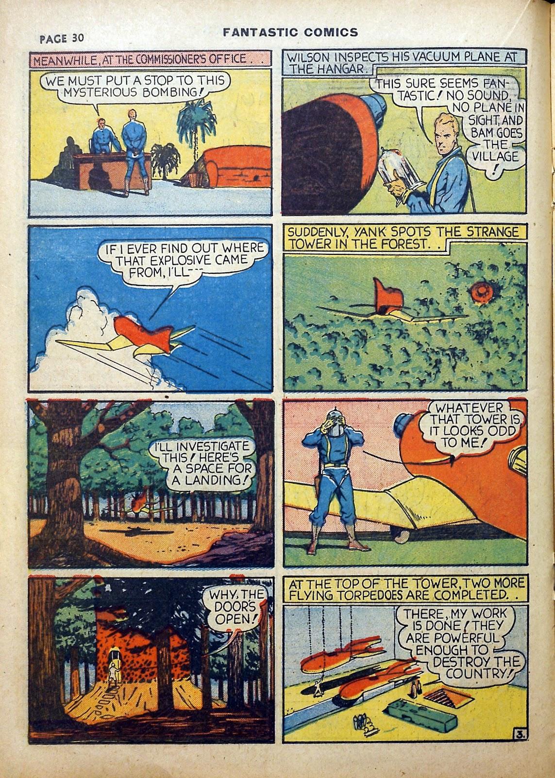 Read online Fantastic Comics comic -  Issue #5 - 31