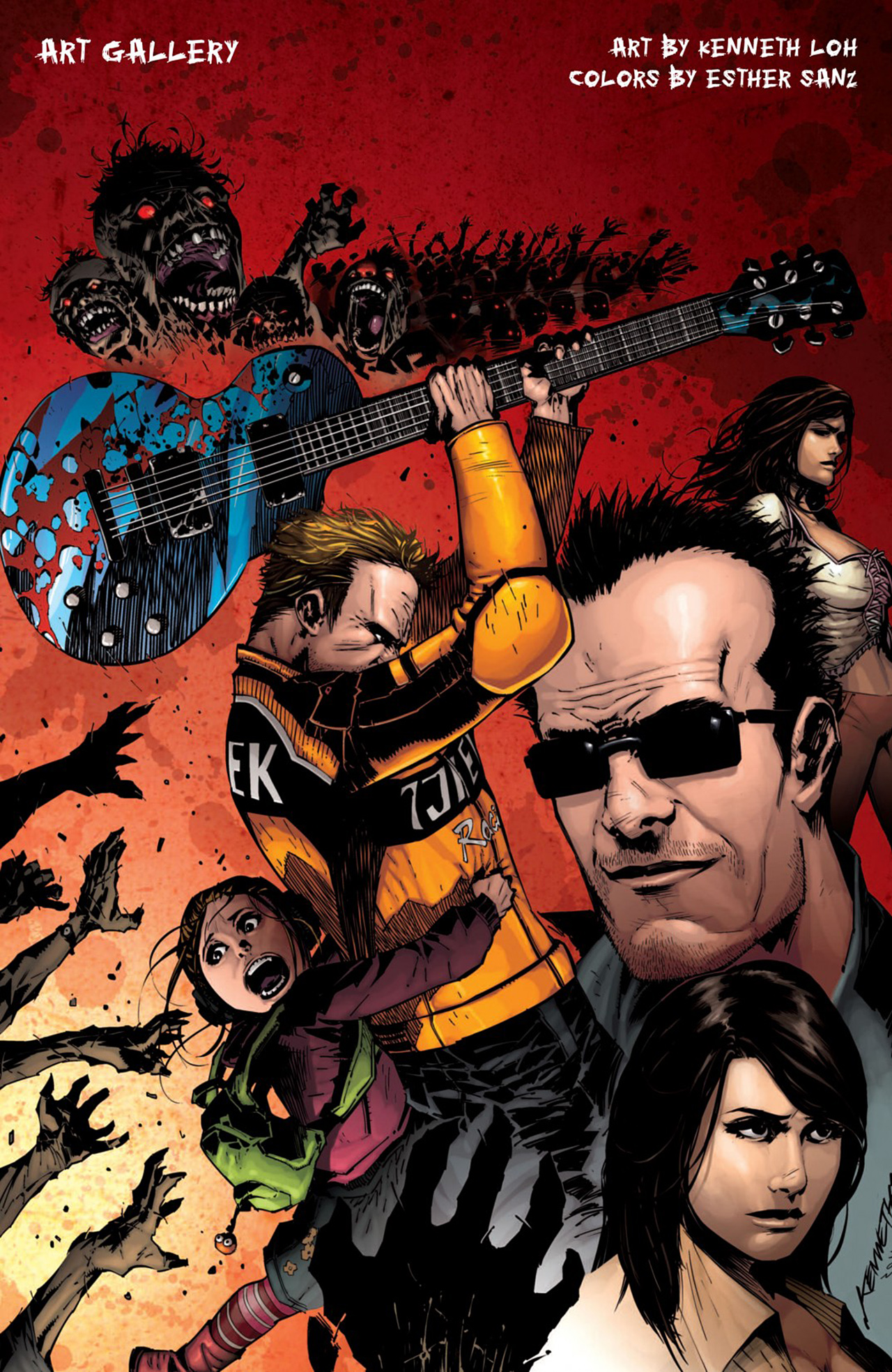 Read online Dead Rising: Road to Fortune comic -  Issue # TPB - 101