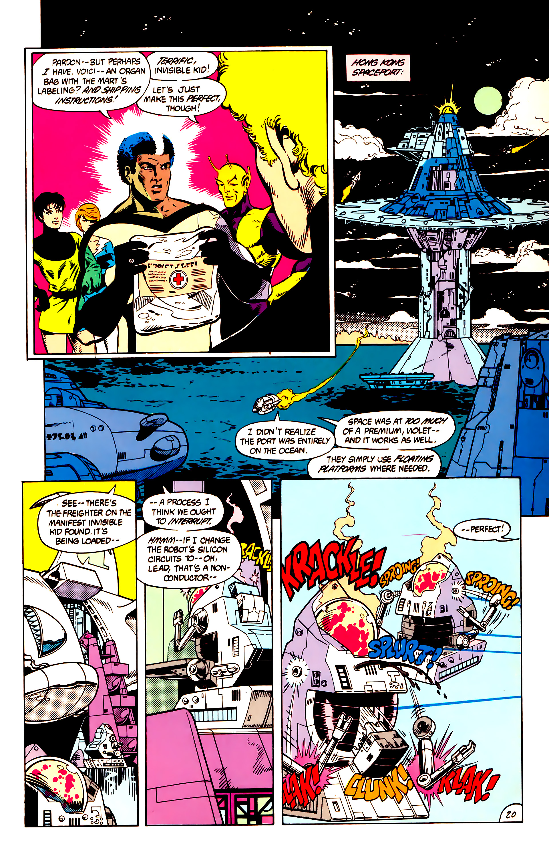 Legion of Super-Heroes (1984) 9 Page 21