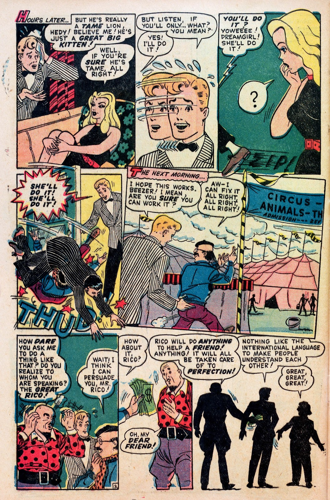Read online Comedy Comics (1948) comic -  Issue #1 - 28