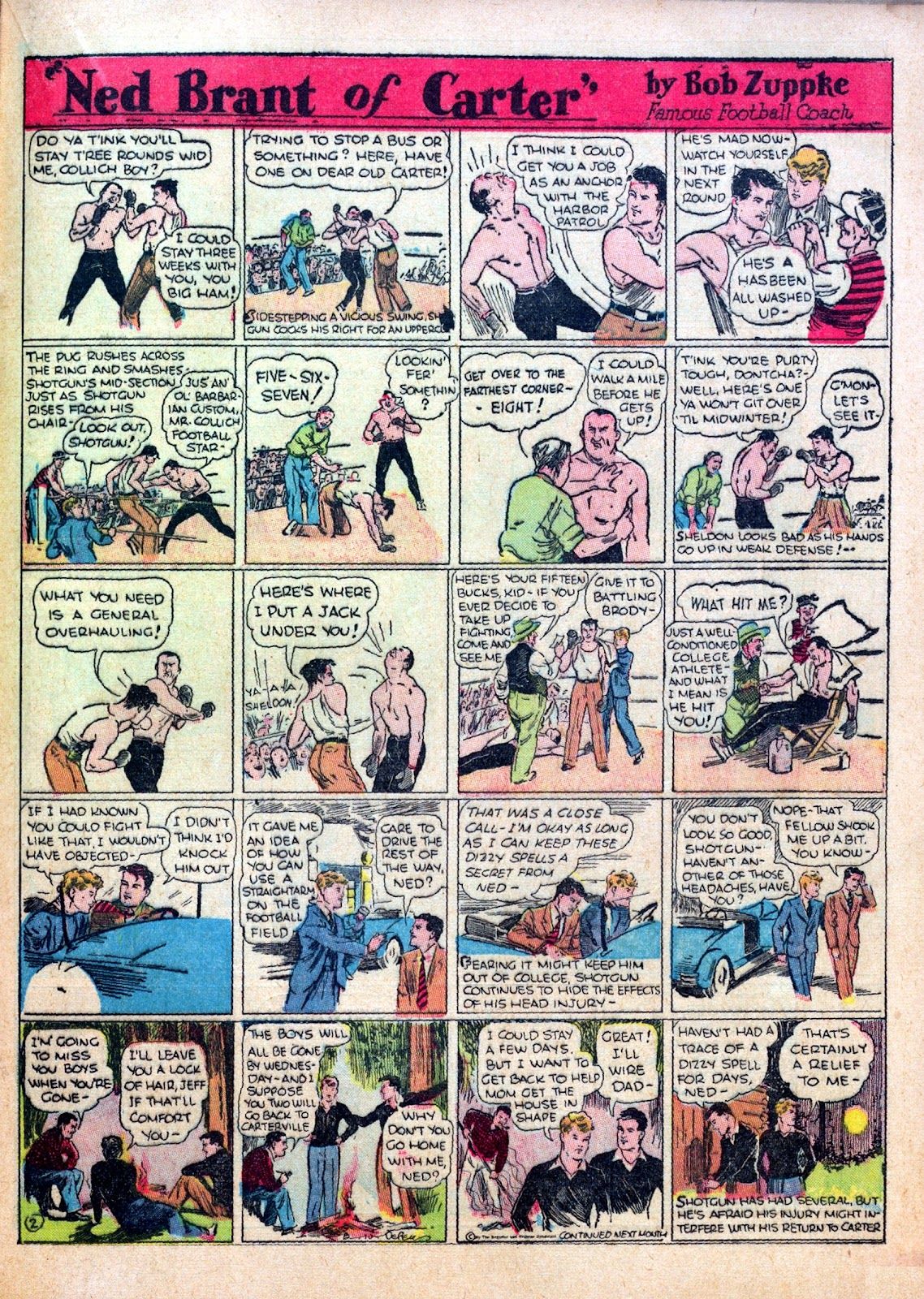 Read online Famous Funnies comic -  Issue #30 - 39