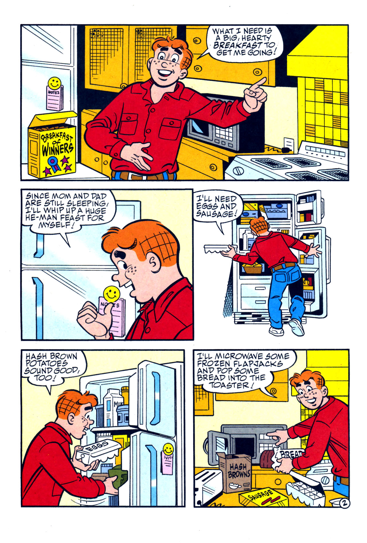Read online Archie (1960) comic -  Issue #579 - 22