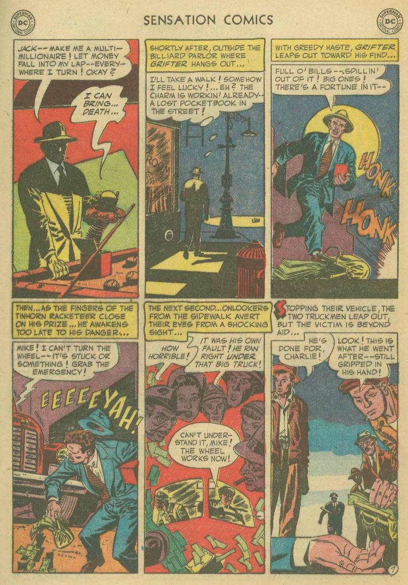 Read online Sensation (Mystery) Comics comic -  Issue #107 - 9