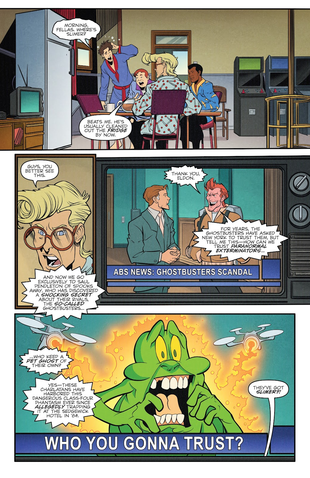Read online Ghostbusters 35th Anniversary: The Real Ghostbusters comic -  Issue # Full - 15