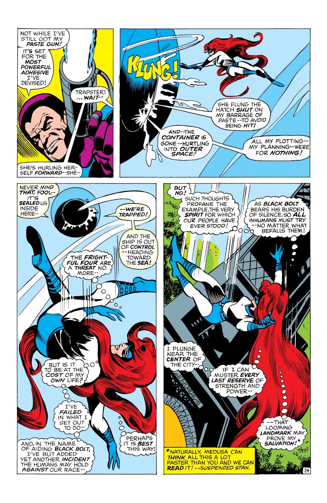 Read online Marvel Masterworks: The Inhumans comic -  Issue # TPB 1 (Part 1) - 67