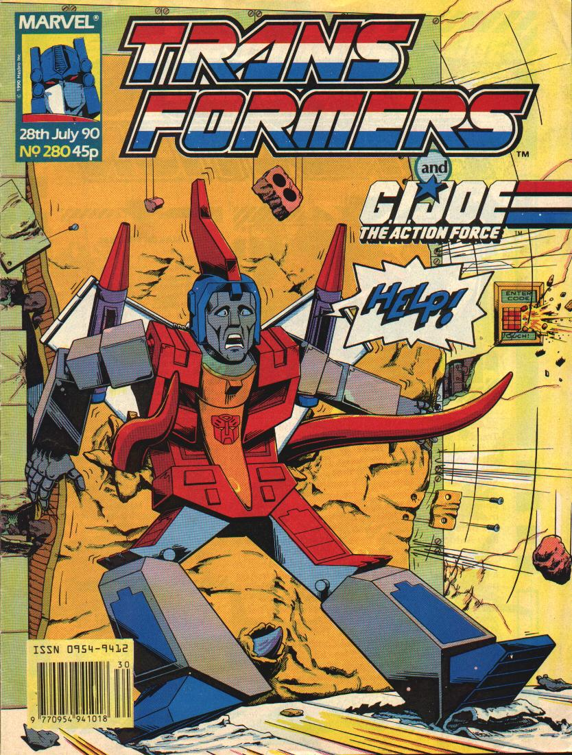 The Transformers (UK) 280 Page 1