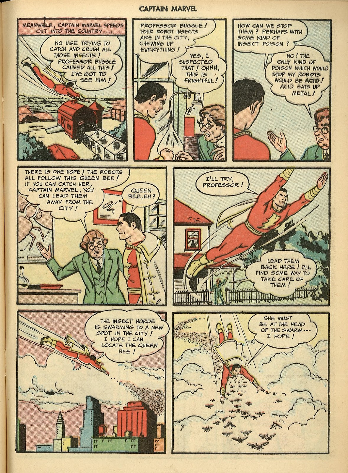 Captain Marvel Adventures issue 70 - Page 21